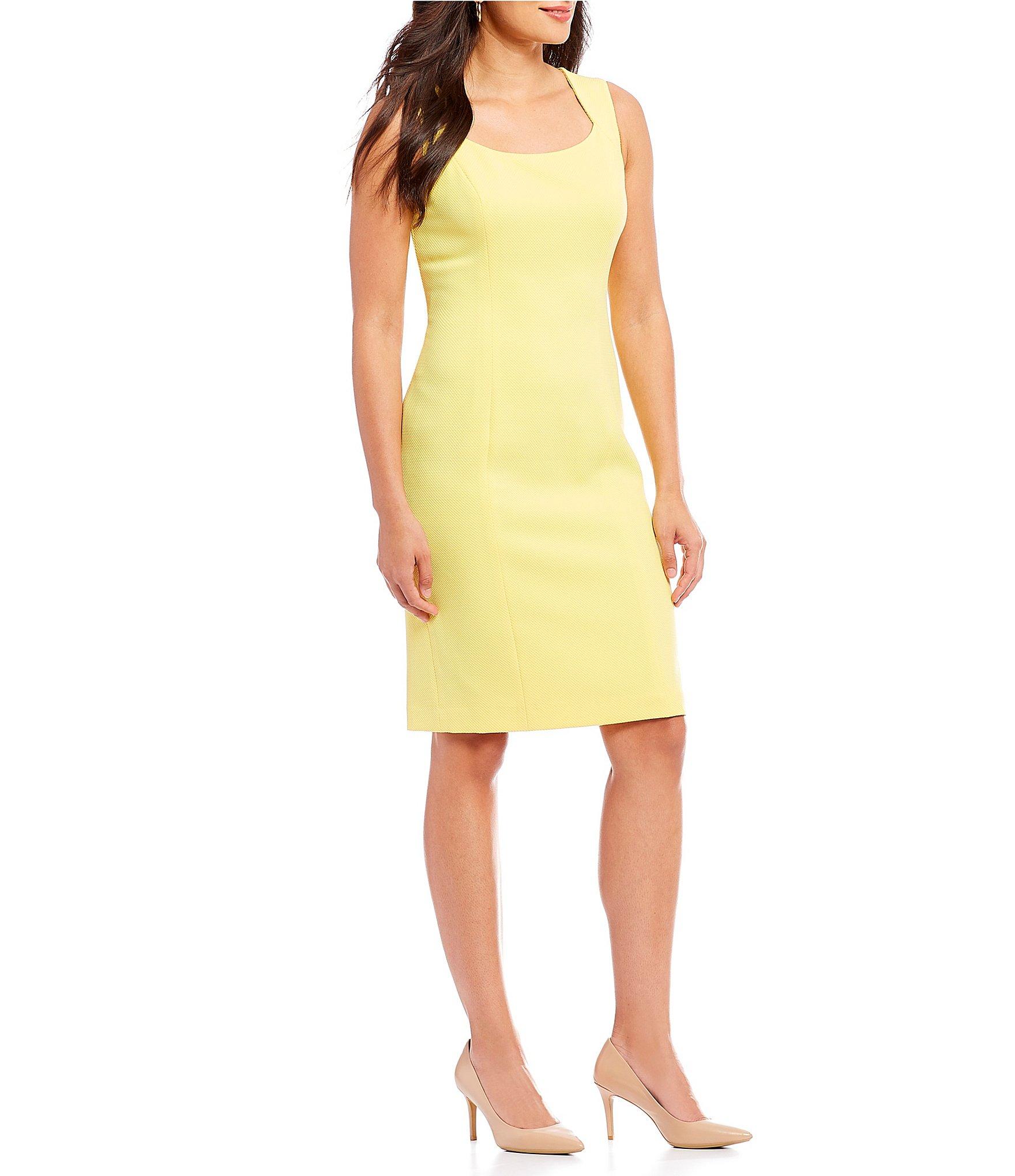 Printed Dress Daffodil