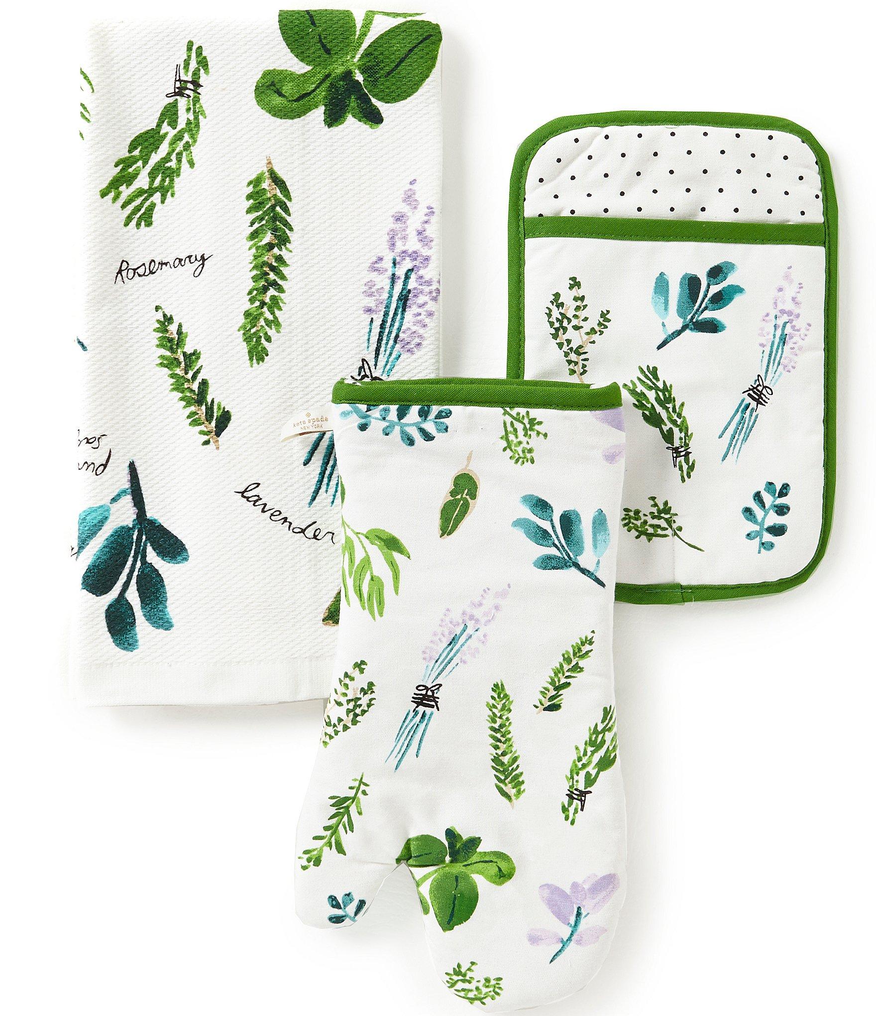 Kate Spade New York Homegrown 3-Piece Kitchen Linens Set