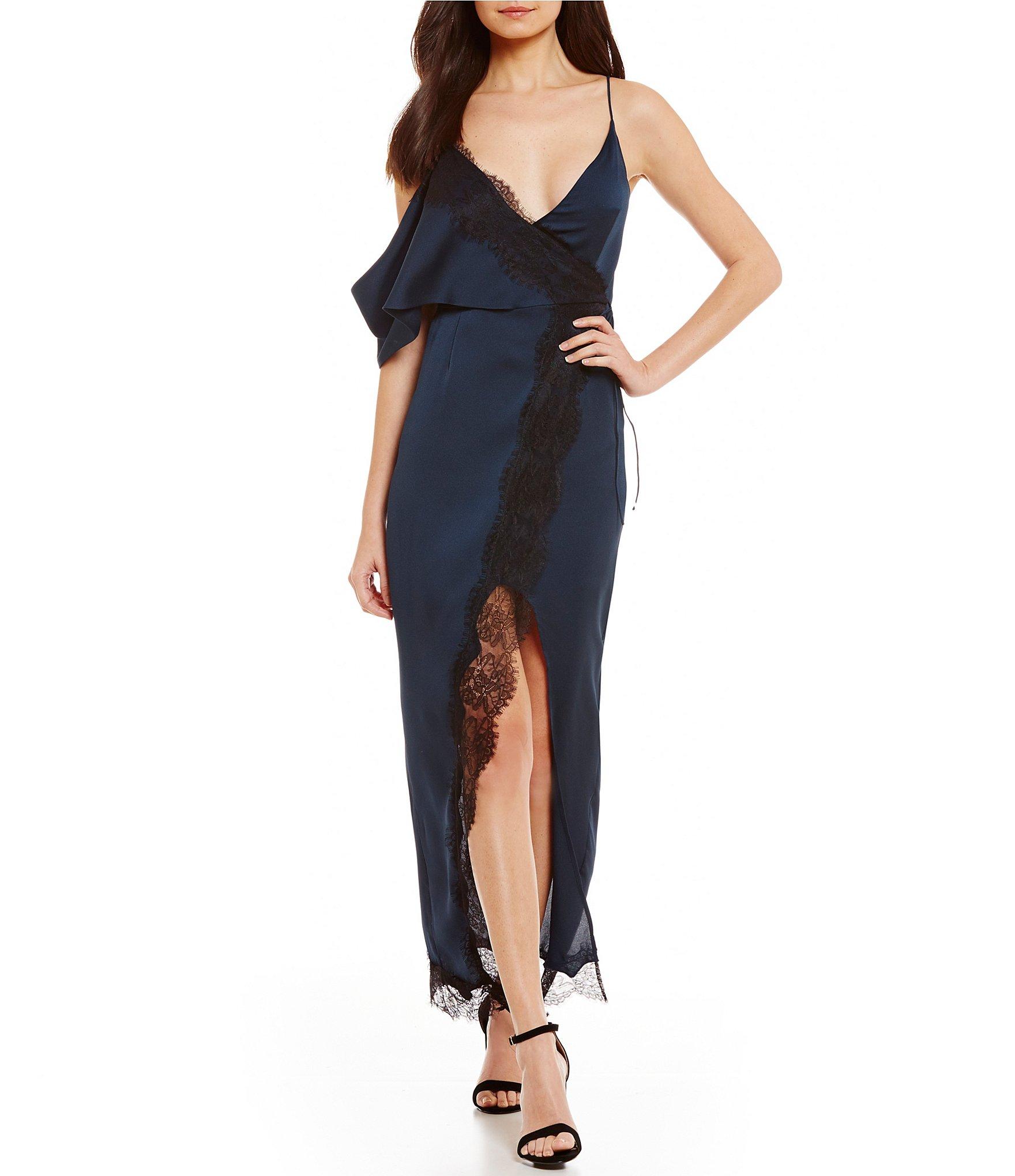 Chelsea girl cream lace maxi dress