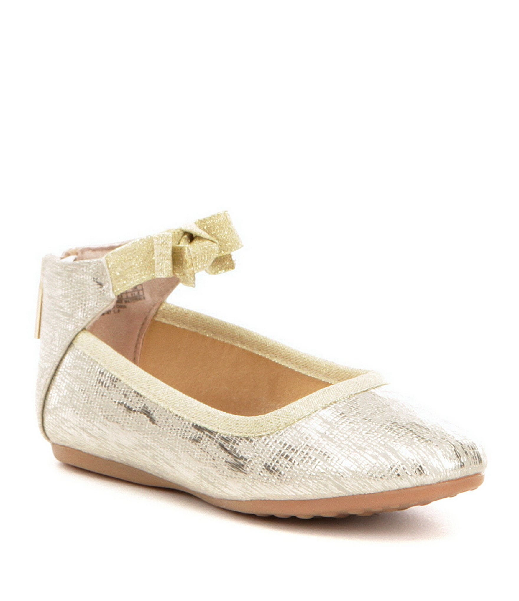 Flat rhinestone sandals for wedding - Shoes Kids Shoes Youth Girls 12 5 Dress Shoes Flat Dillards Com