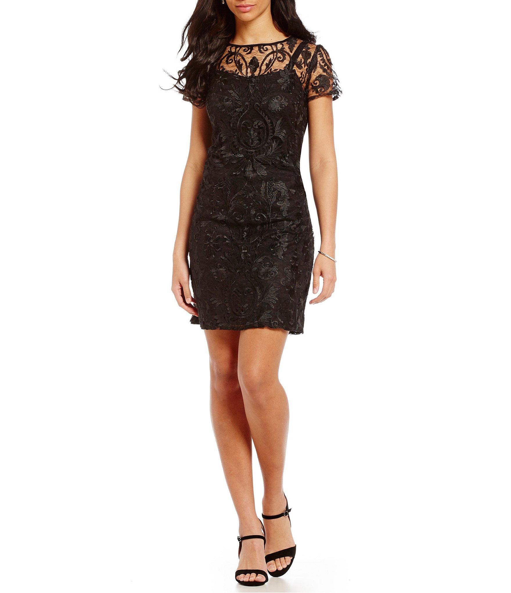 Black dress dillards northeast mall