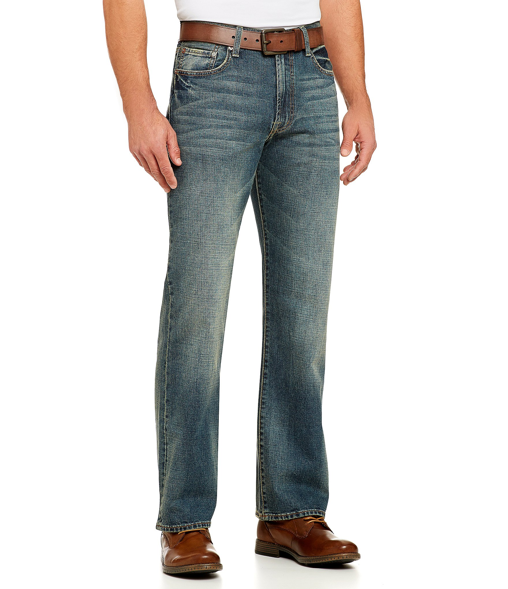 lucky brand 181 relaxed fit straight leg jeans dillards. Black Bedroom Furniture Sets. Home Design Ideas