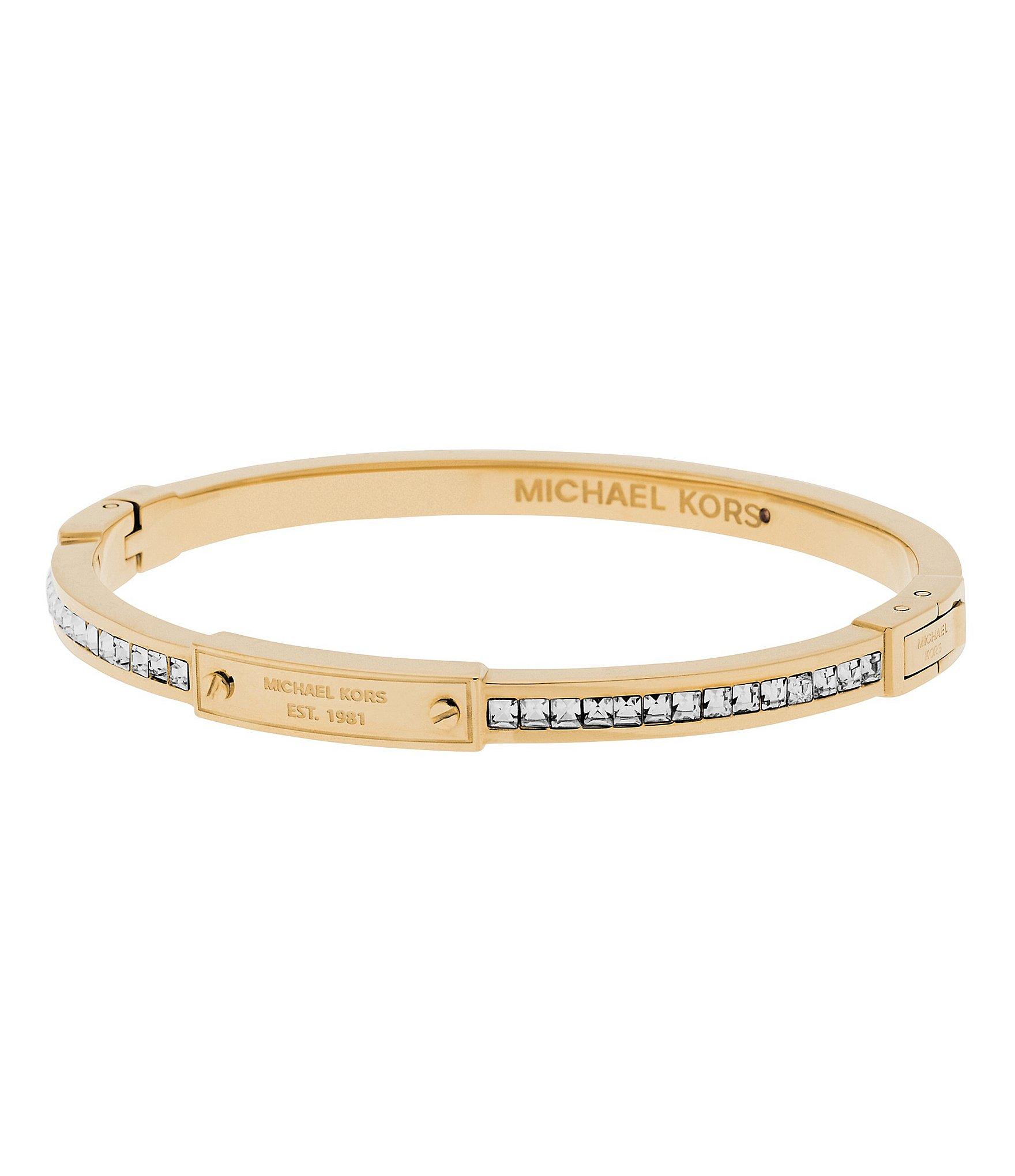 gold michael kors bracelet bracelets