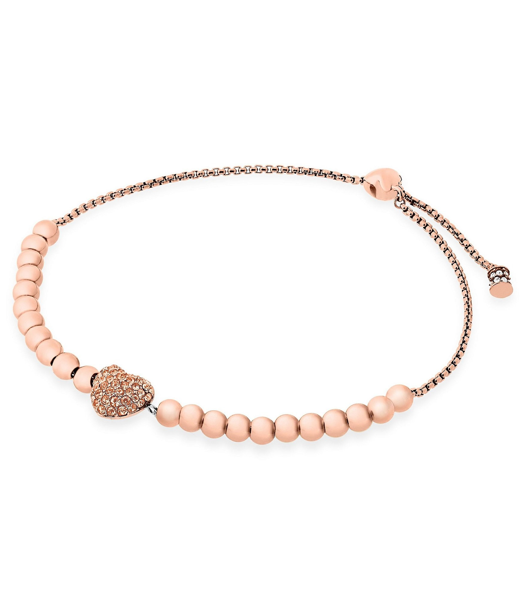 547e0ece94734 Buy michael kors rose gold heart bracelet   OFF64% Discounted