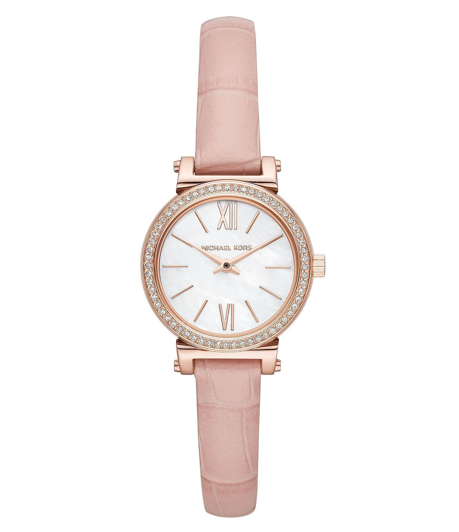 watch blush multi ted ruth strap online womens buyted main pdp at women leather s watches pink baker johnlewis rsp