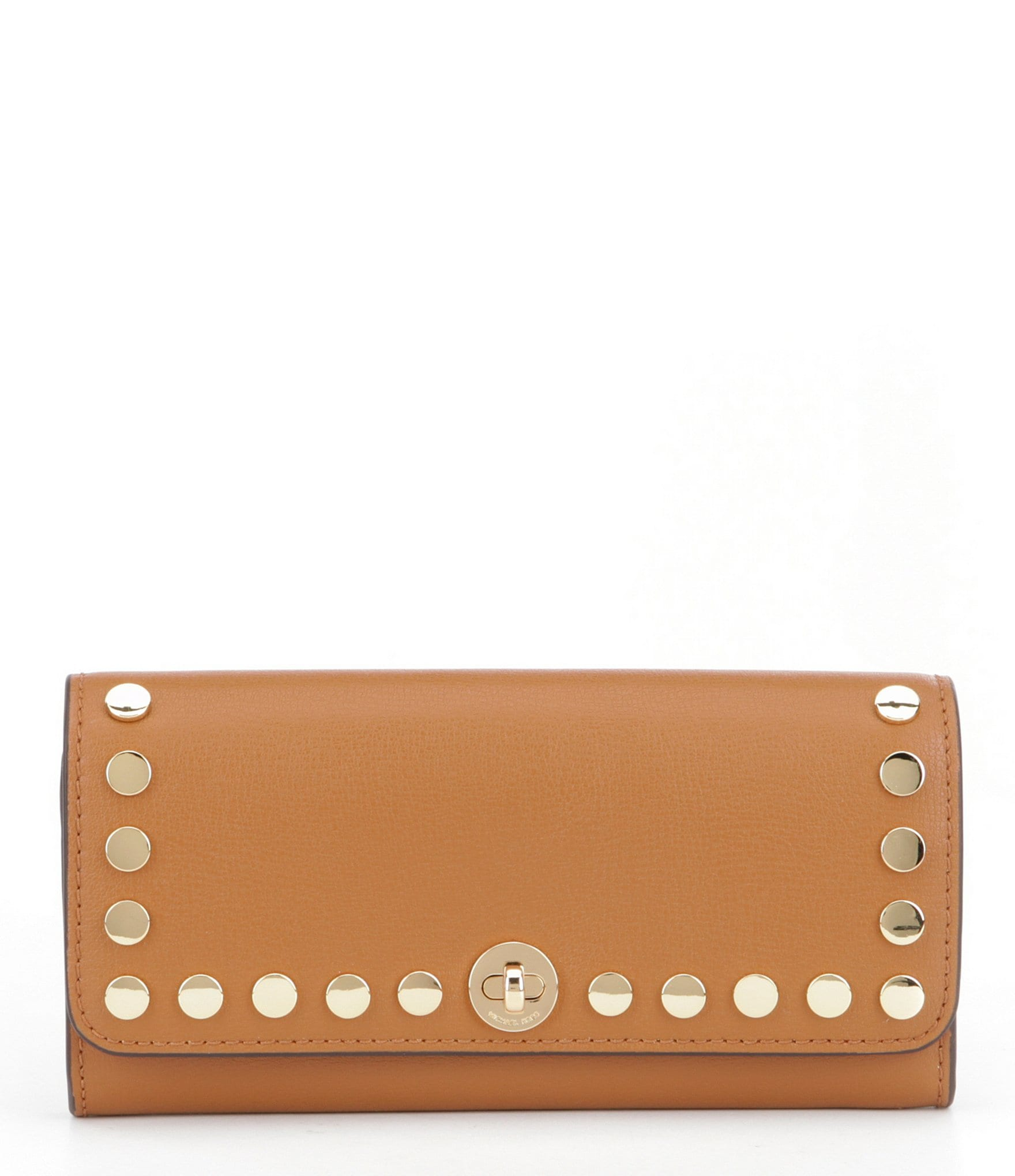 fcdb5b082c6a Michael Kors White Studded Wallet At Dillards | Stanford Center for ...