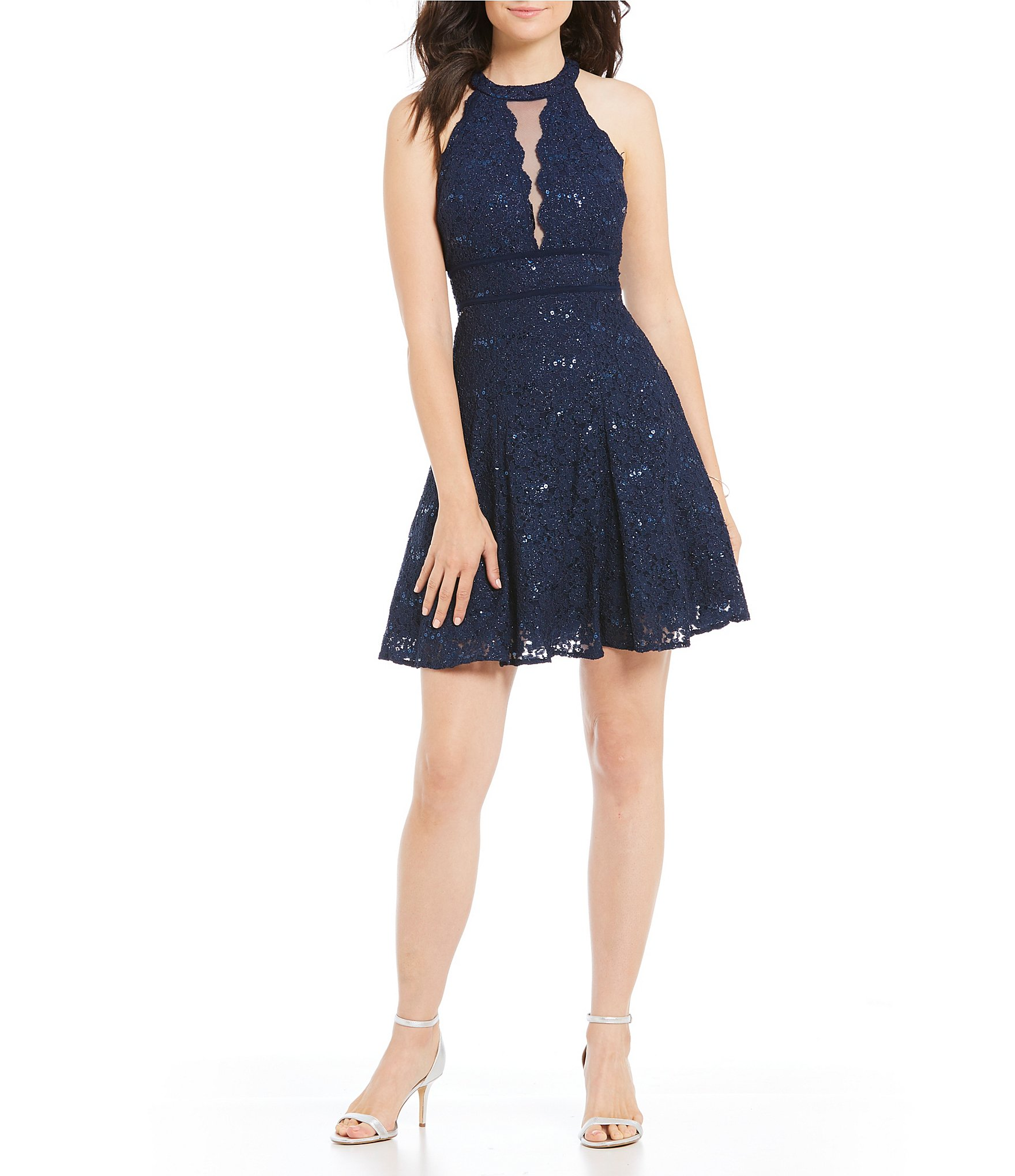 Juniors Lace Dresses Dillards