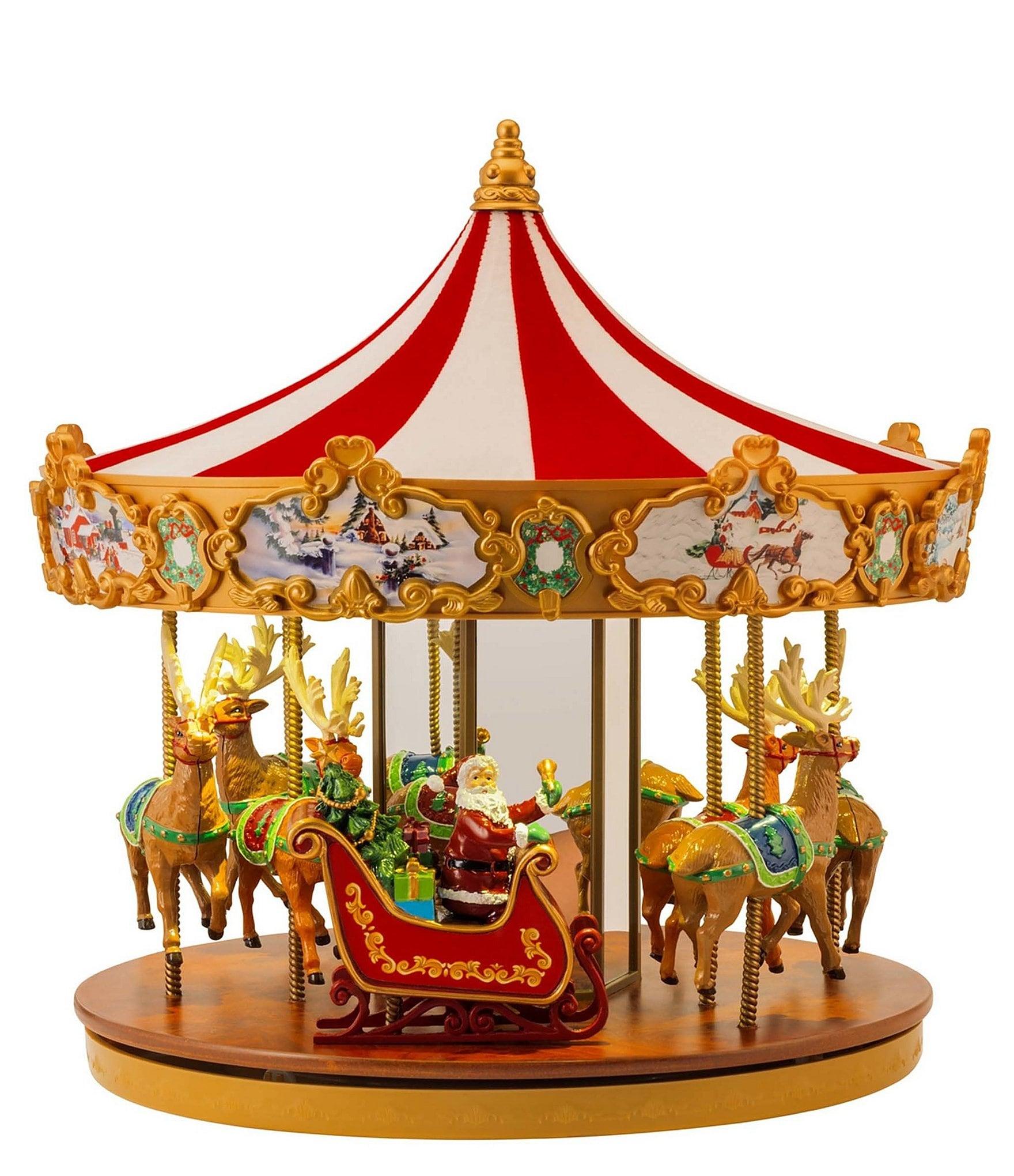 Mr. Christmas Very Merry Light-Up Musical Carousel | Dillards