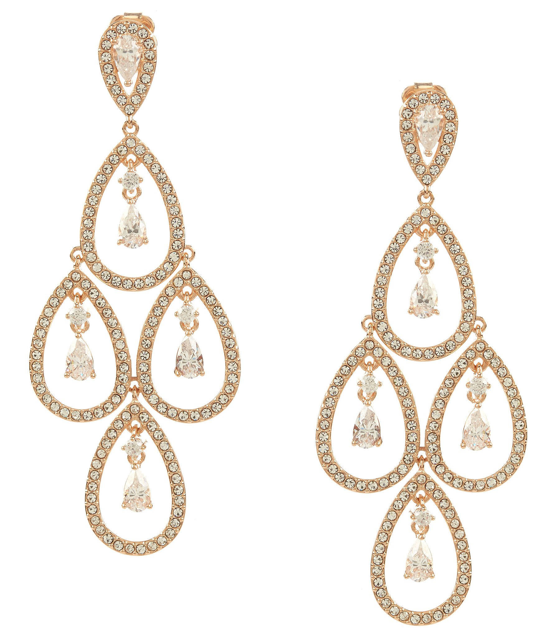 Cubic zirconia earrings womens jewelry dillards arubaitofo Images