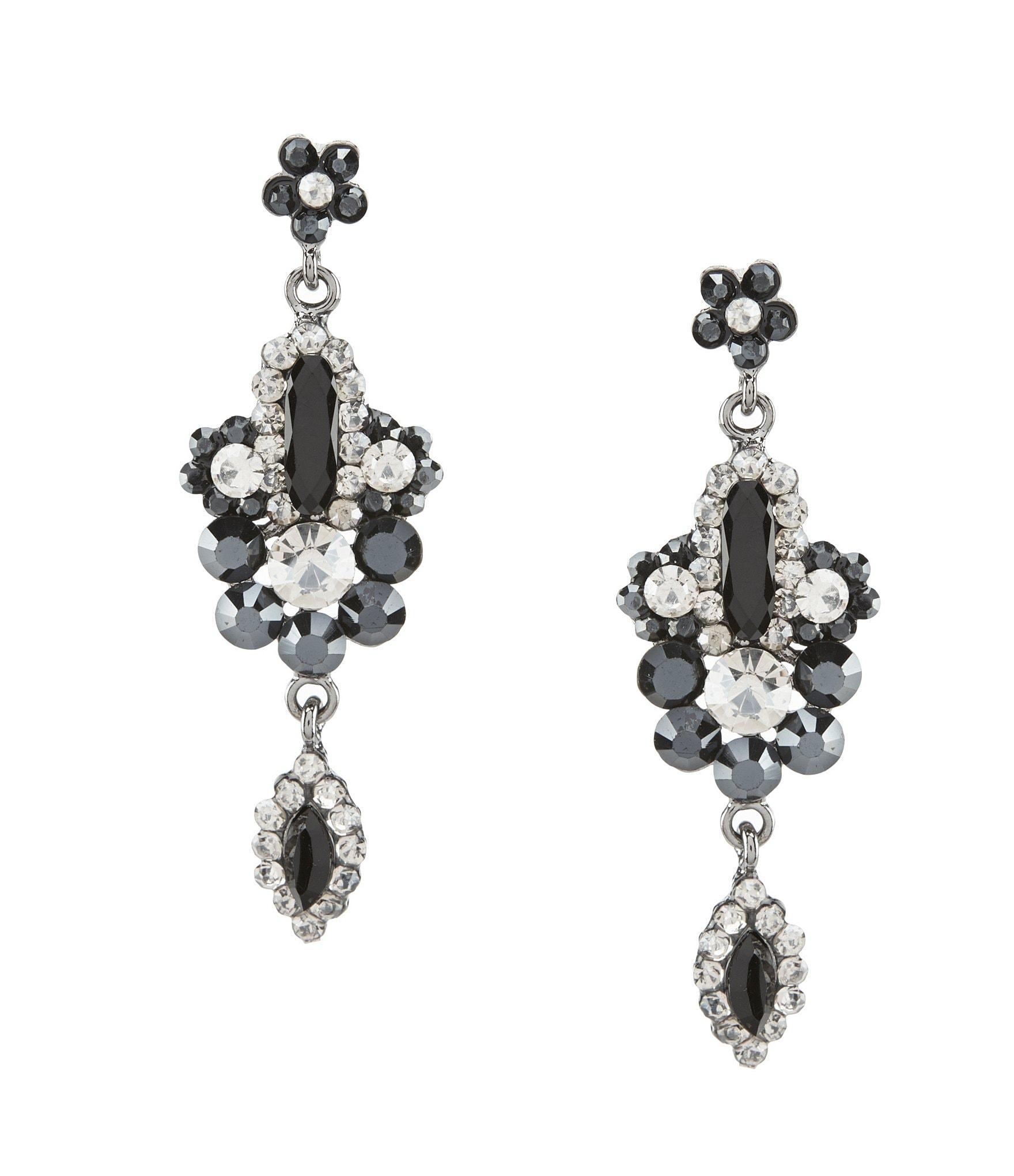 Accessories | Jewelry | Crystal & Rhinestone Jewelry | Earrings ...
