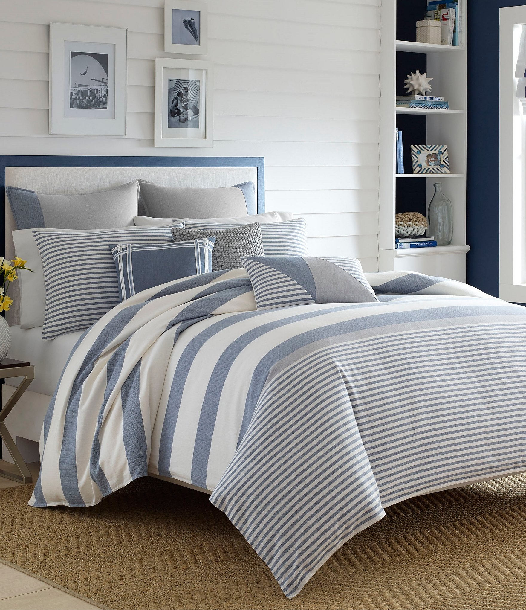 a queen bed nautica beachy nautical and comforter in size king coverlet comforters designs bag quilts sets coastal quilt coverlets bedding bedroom sheets