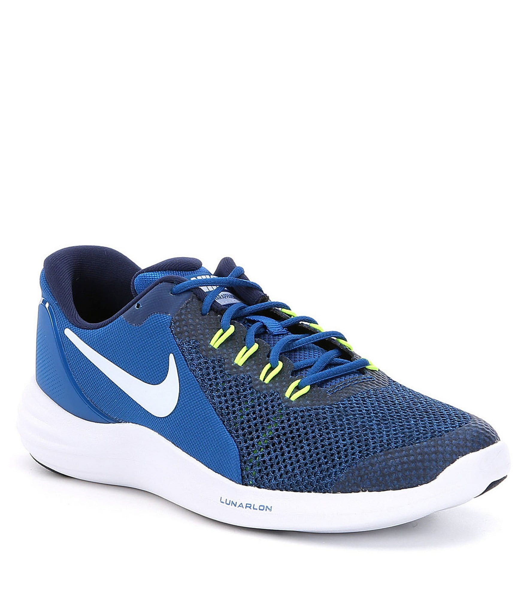 boys nike shoes navy blue