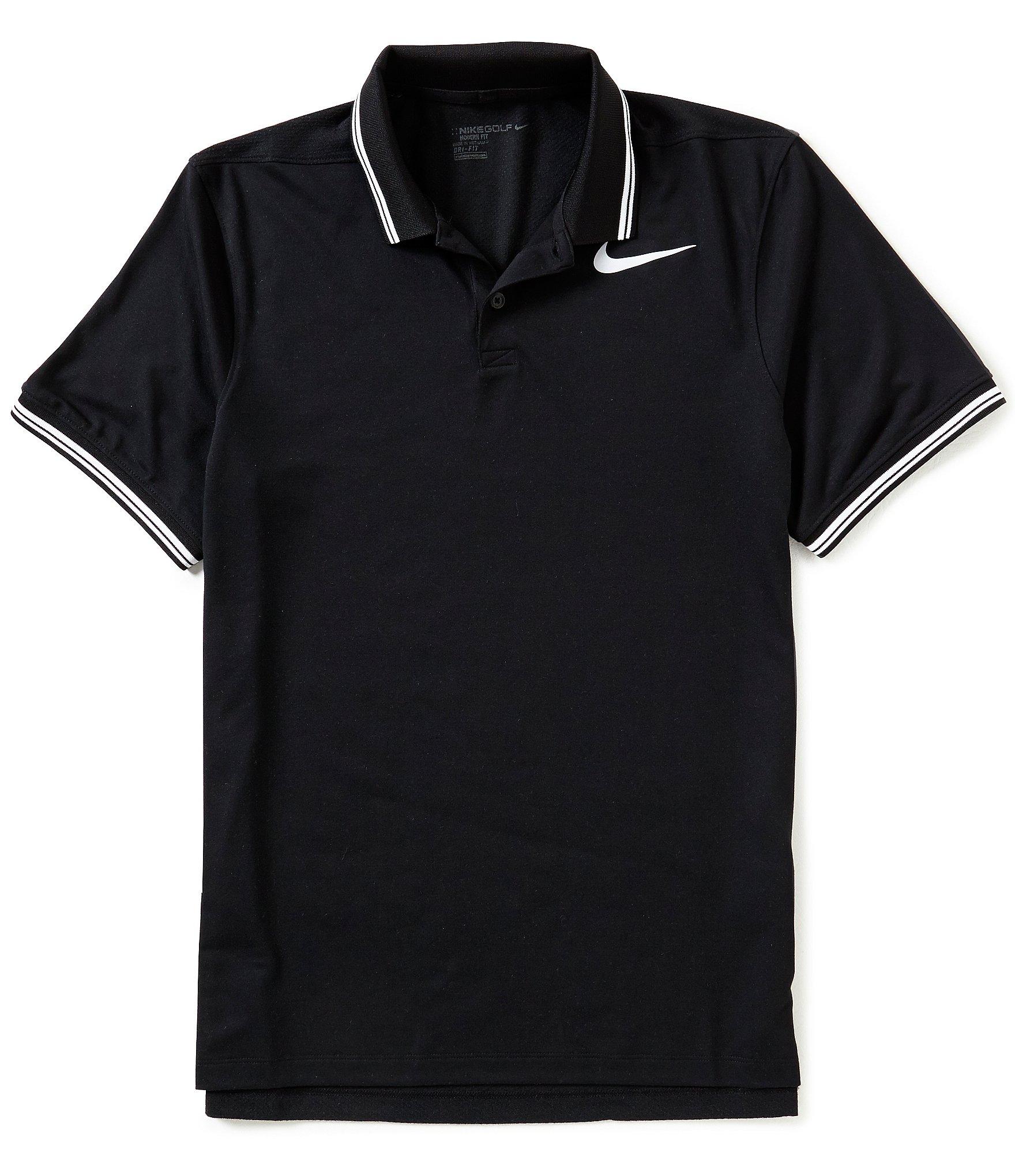 nike golf tipped short sleeve polo shirt dillards