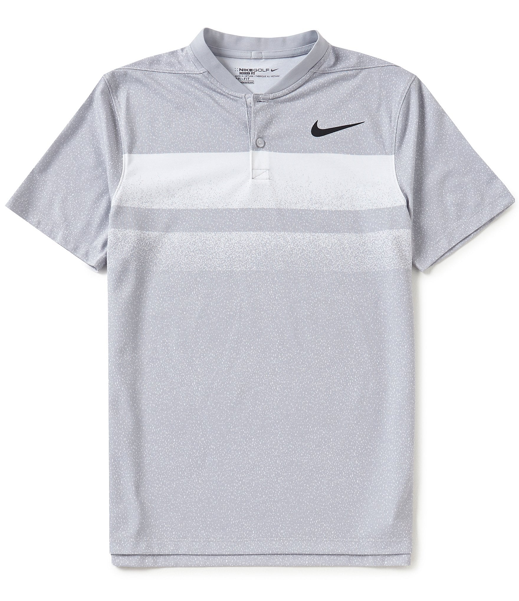 Nike golf transition modern fit dri fit polo shirt dillards Modern fit golf shirt