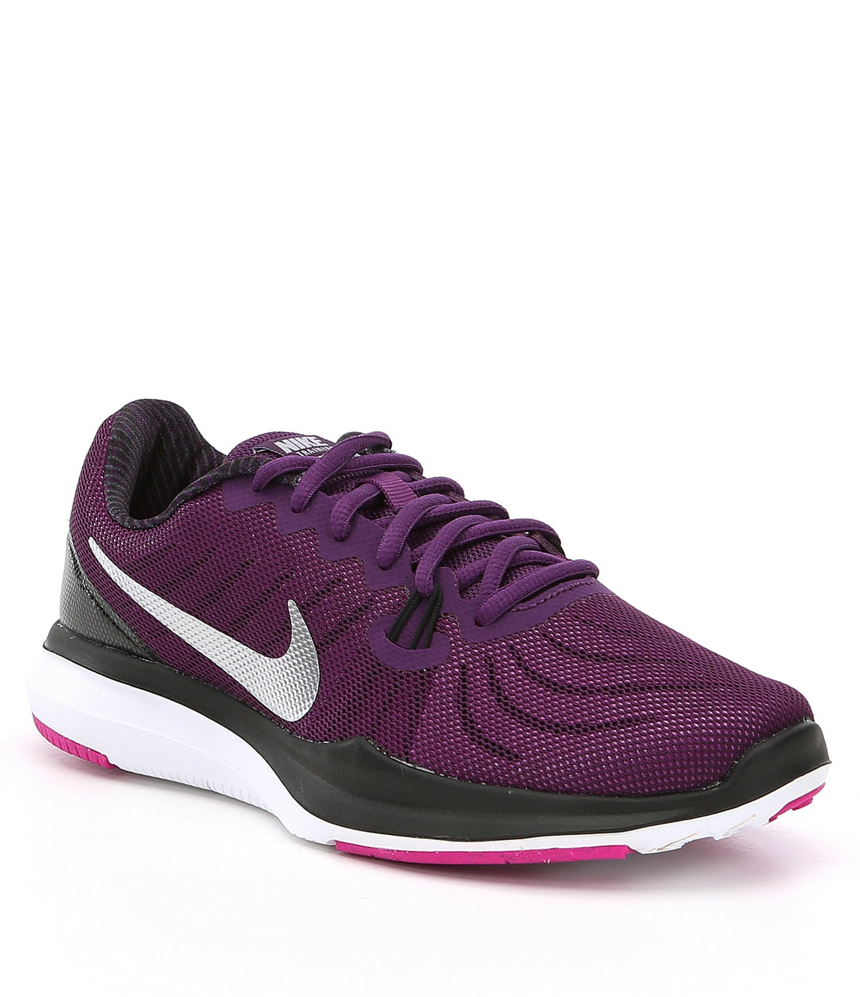 nike roshe run floral silver purple shoes clearance