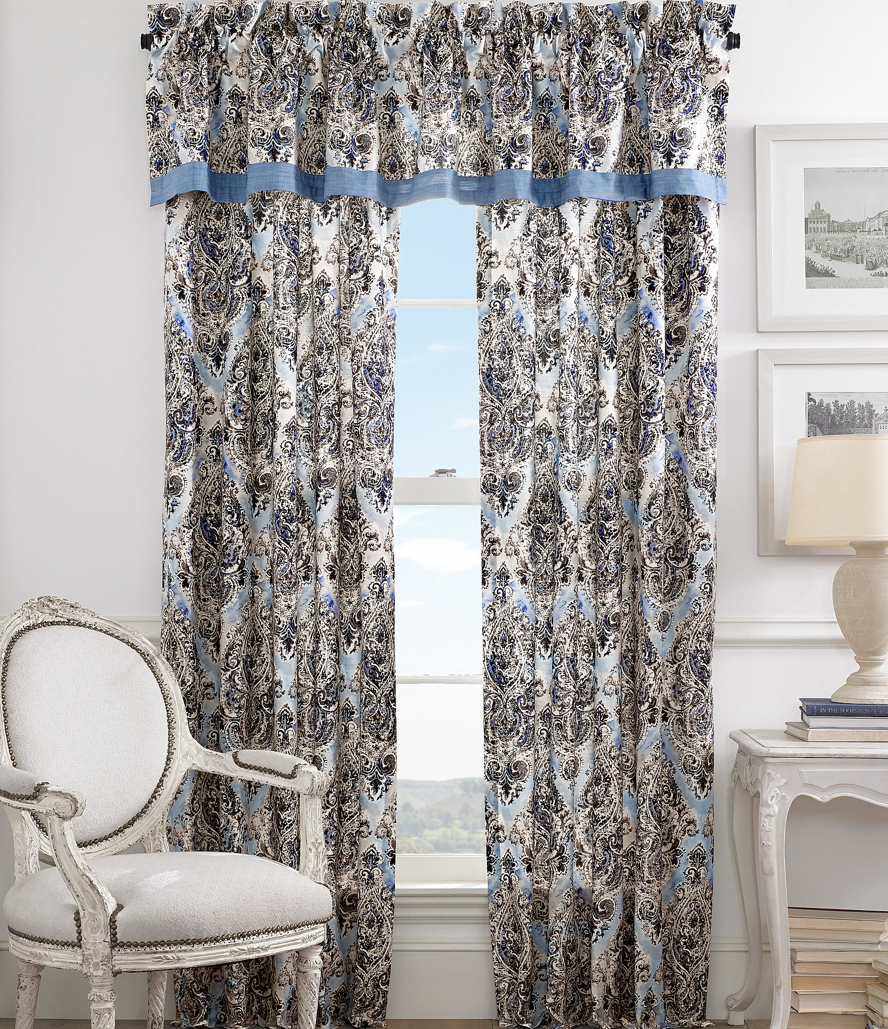 drapes lined two white curtain rouge eyelet sheer panel look homespun baton tone grey gray curtains linen chenille