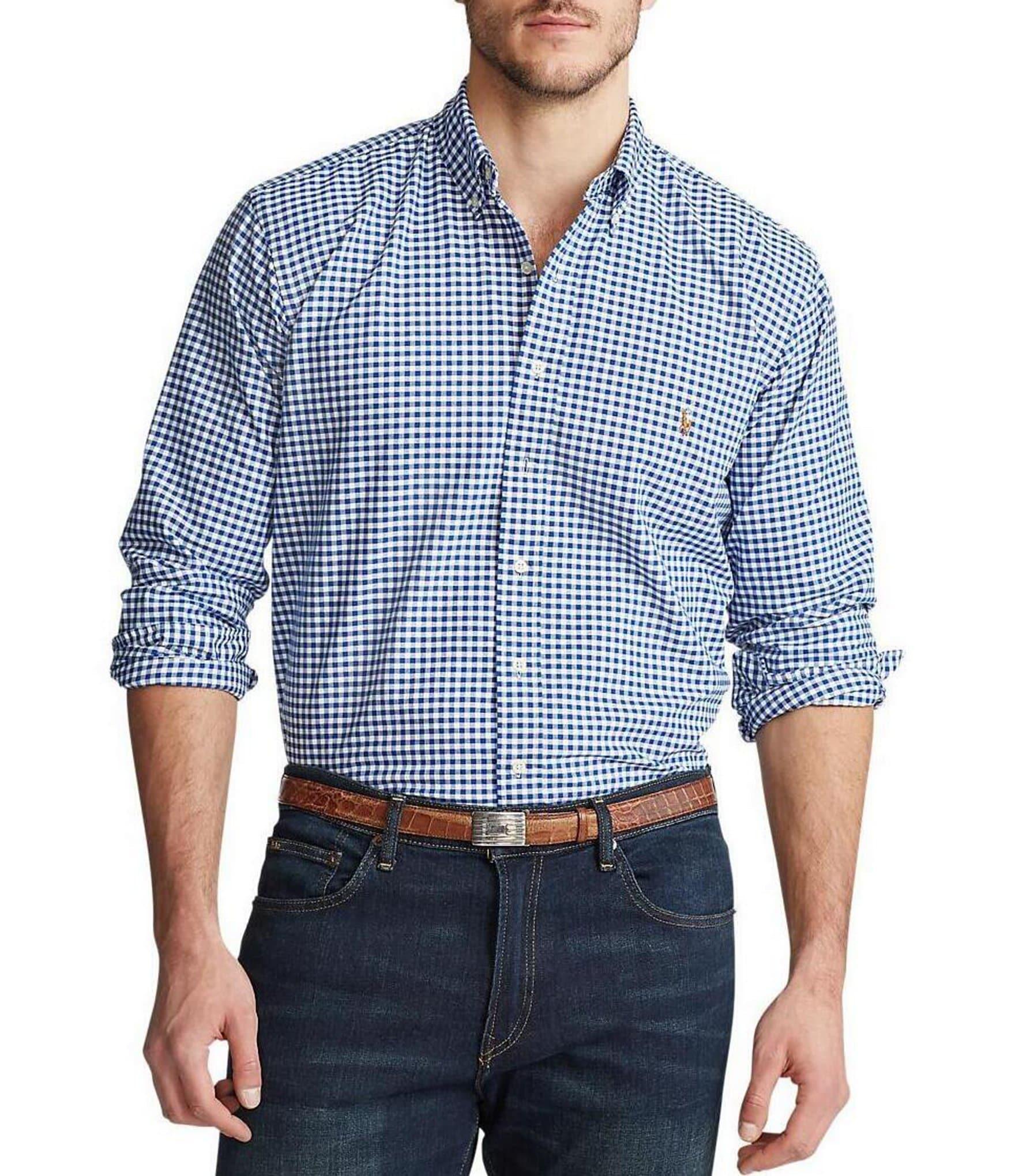 Polo Ralph Lauren Big Tall Checked Oxford Shirt Dillards