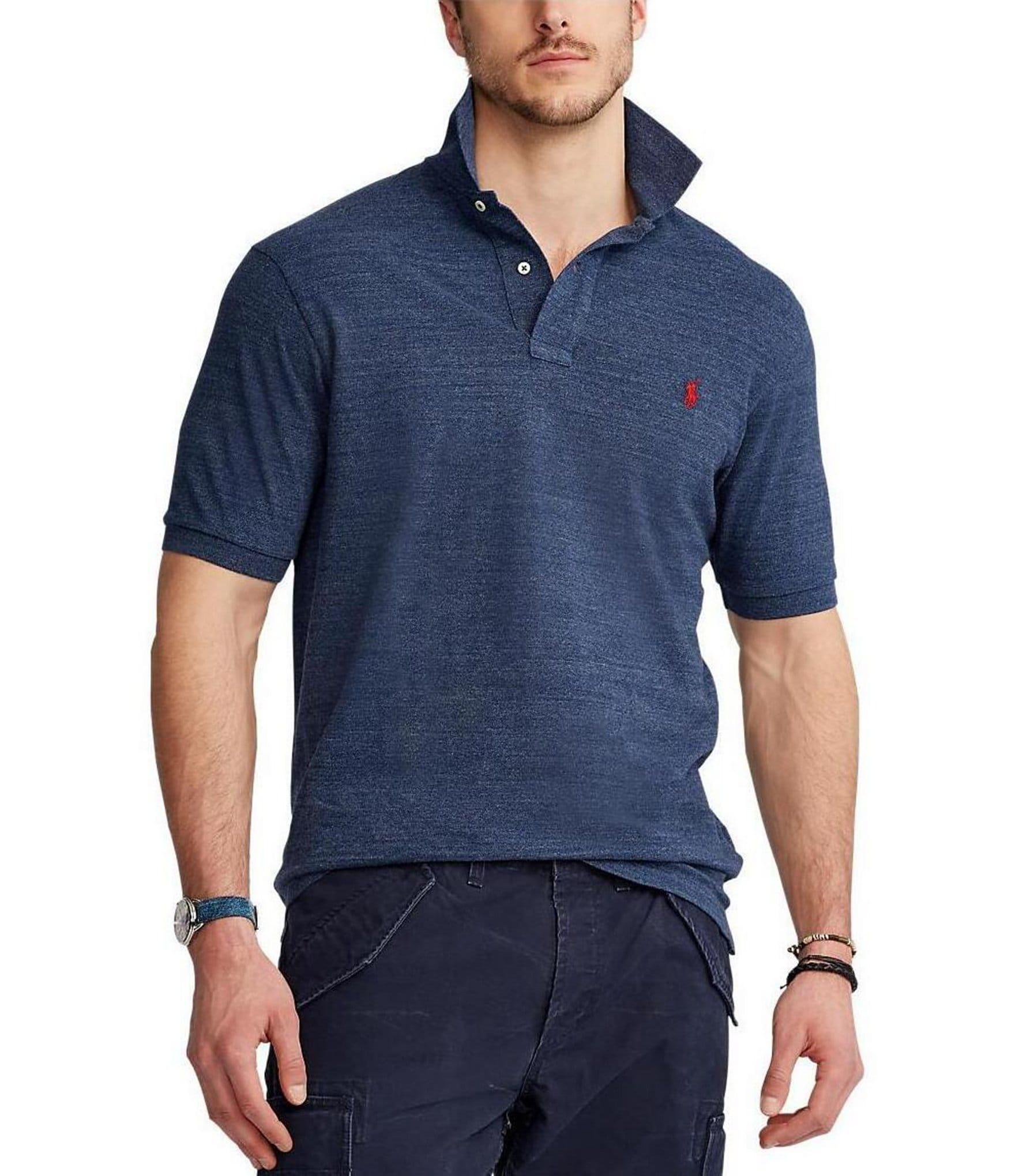 Pas Cher Nice Sortie Grand Escompte Slim-fit Pima Cotton-jersey Polo Shirt - Midnight bluePolo Ralph Lauren Jt0reKj