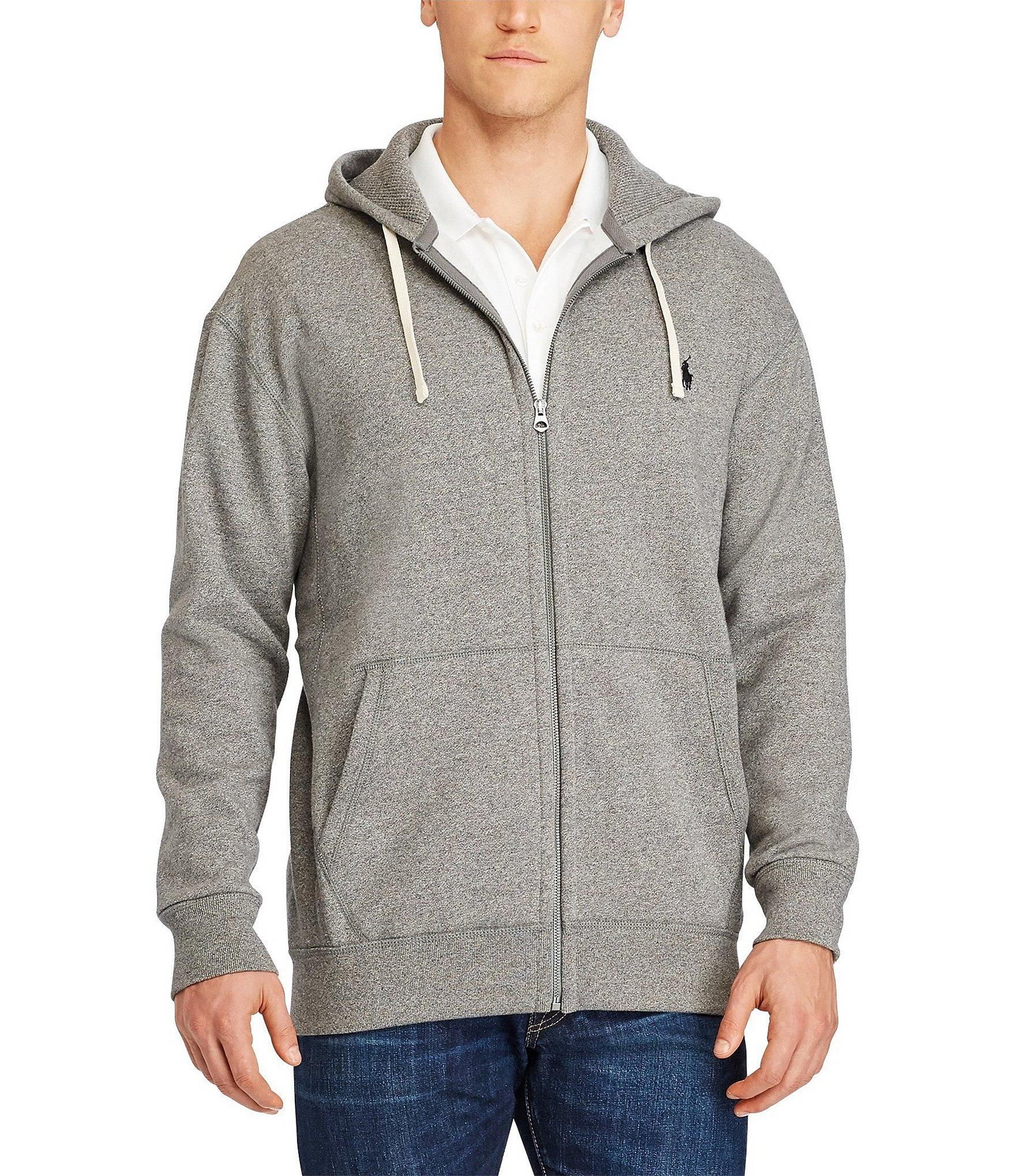 Polo Ralph Lauren Big \u0026 Tall Classic Fleece Full-Zip Hoodie