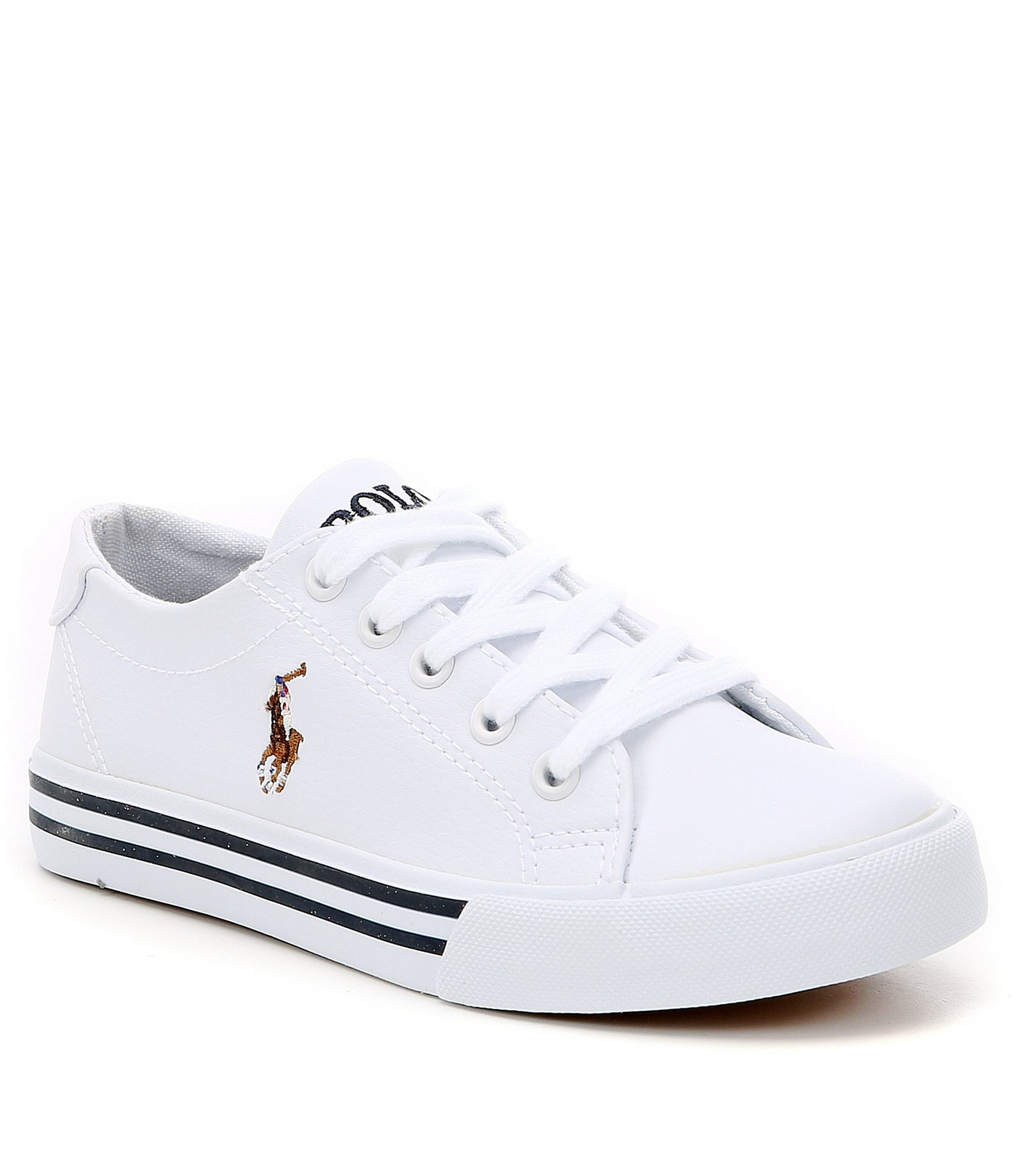 Ralph Lauren White Toddler Shoes