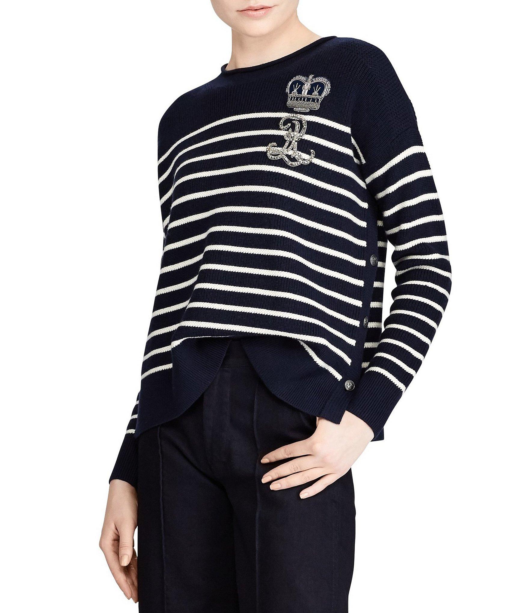 Womens Ralph Striped Shirt Tx T Lauren Outlet Houston Store mwOvN80n