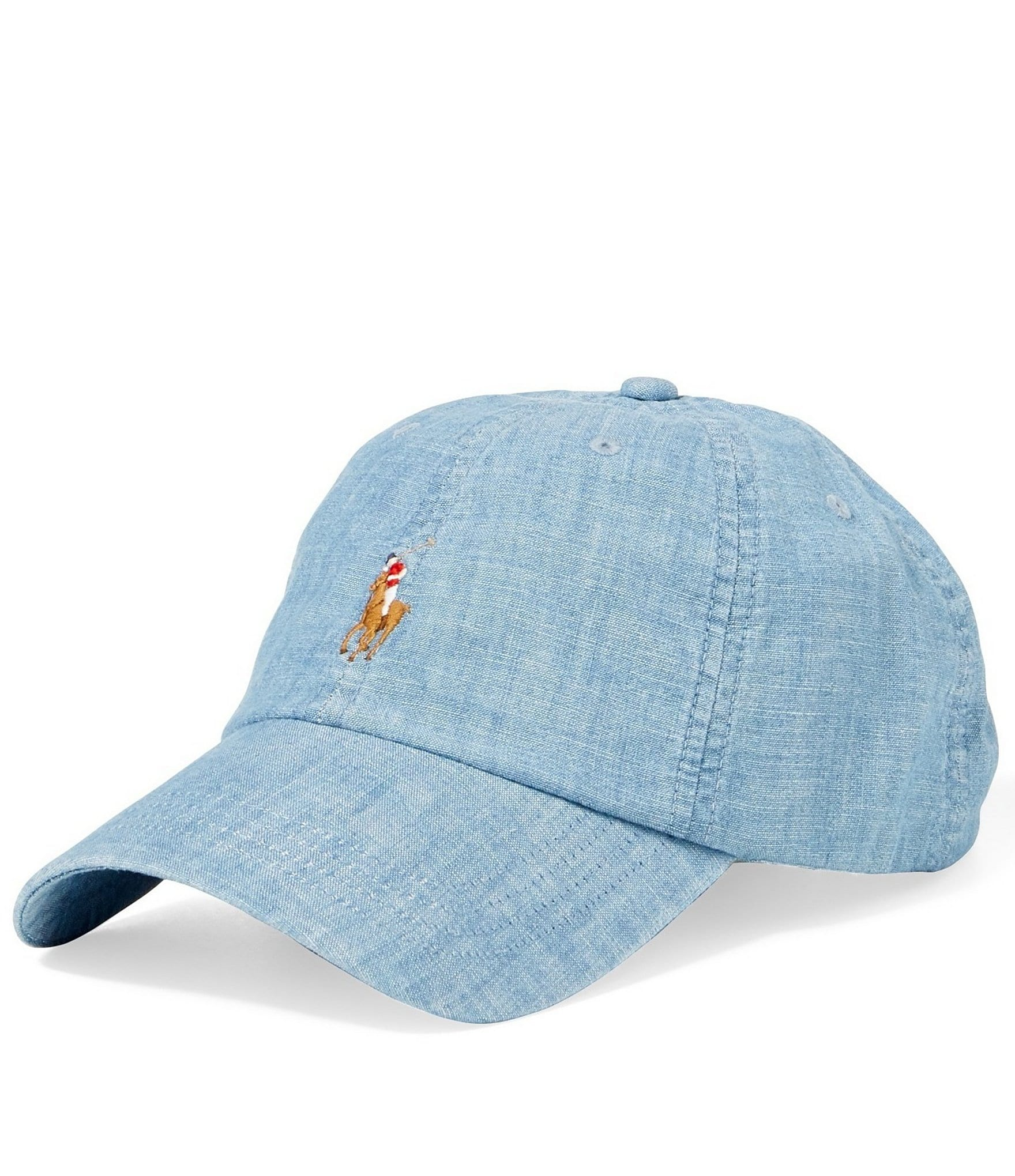 Player Logo Hawaiian Print Baseball Cap in Blue - Prepster hawaiian Polo Ralph Lauren SD595FzgD