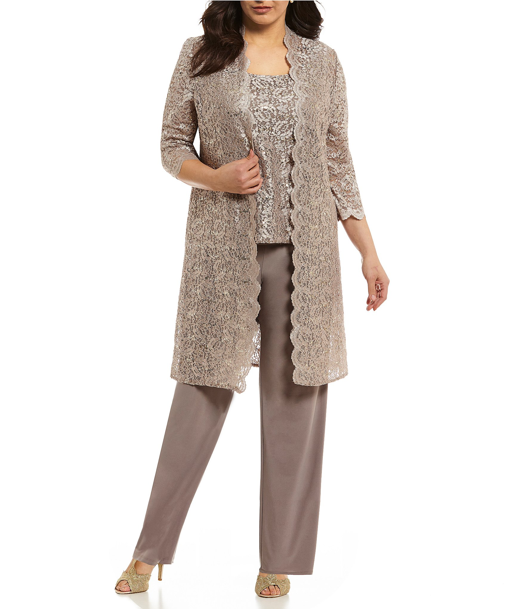 Evening Pant Suits For 50 | elegant evening pant suits