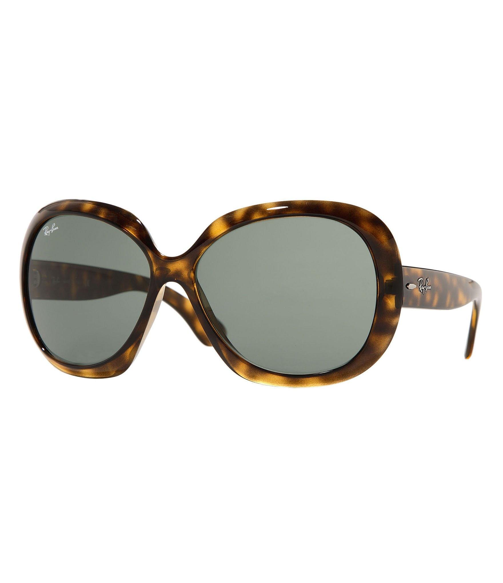 ray ban jackie ohh ii oversized sunglasses dillards. Black Bedroom Furniture Sets. Home Design Ideas