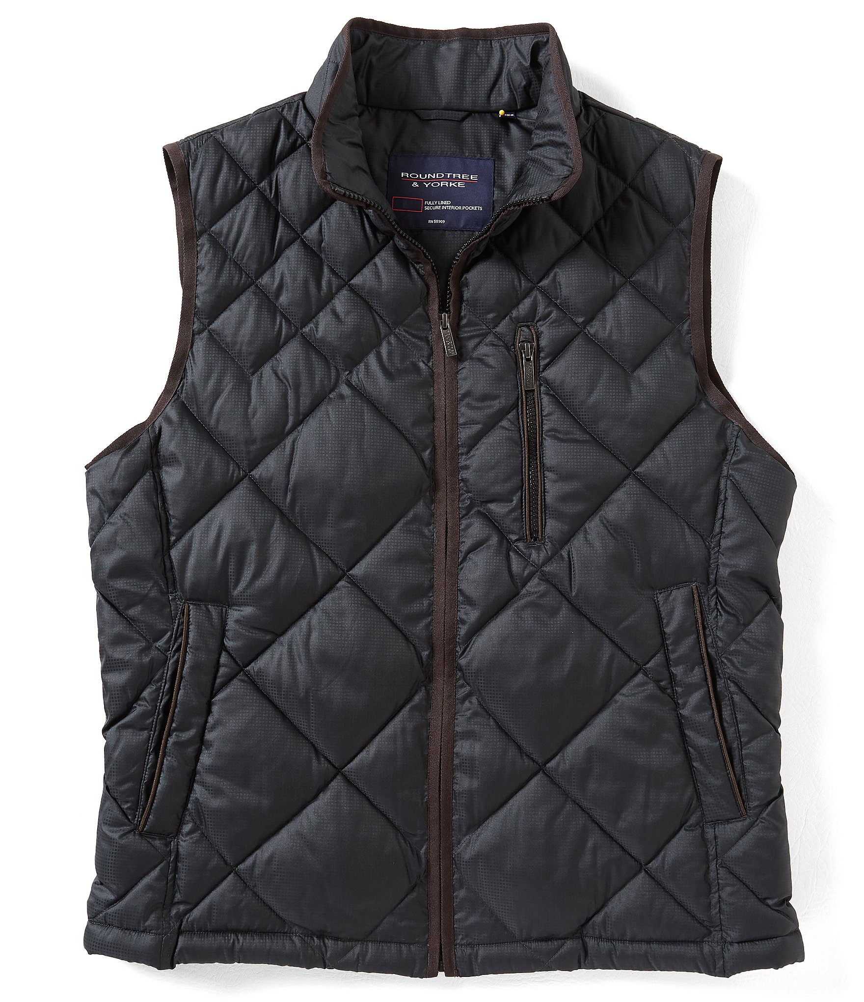 Roundtree and Yorke Men | Outerwear: Coats, Jackets & Vests ...