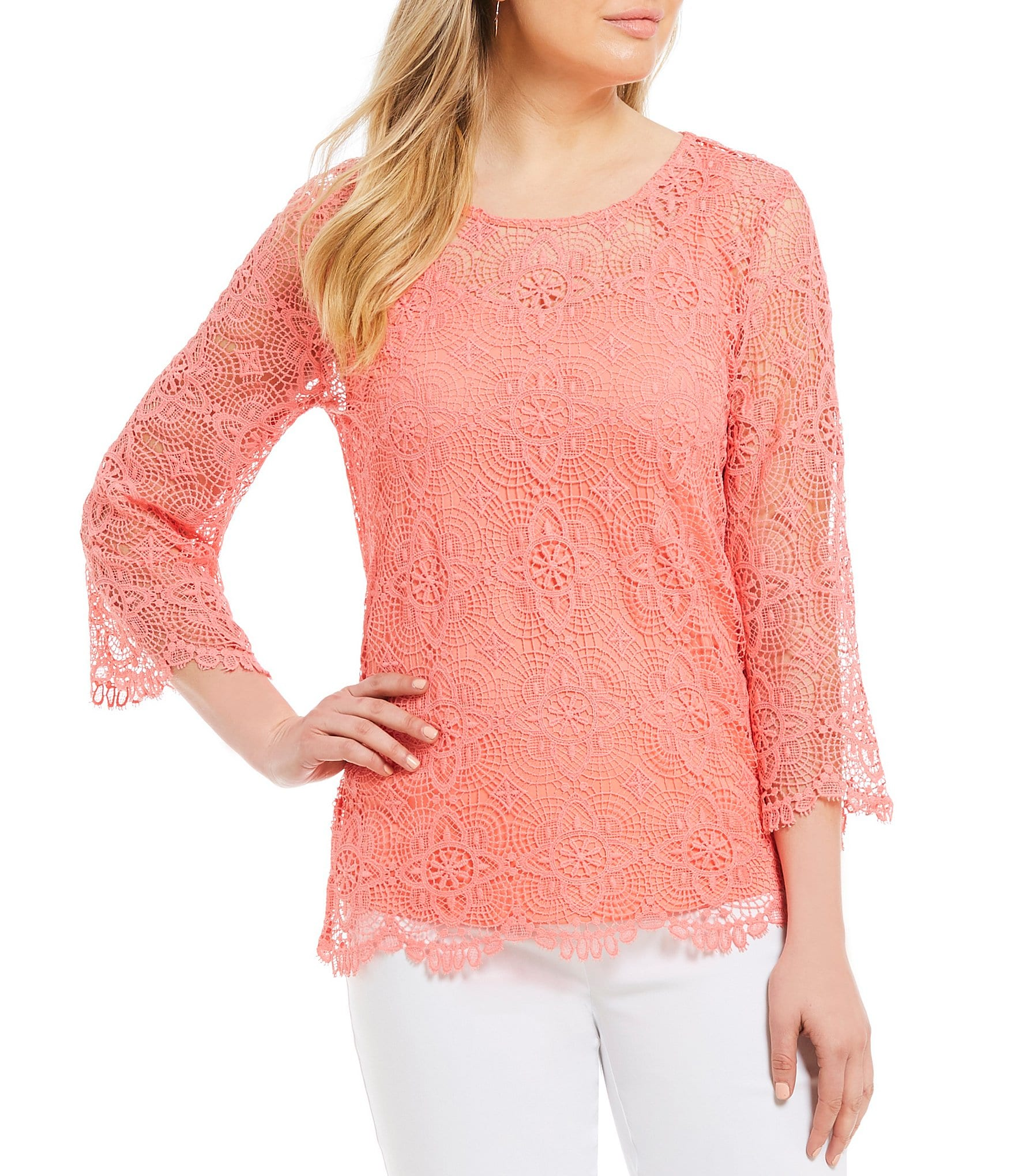 Ruby Rd. Red Women\'s Casual & Dressy Tops & Blouses | Dillards