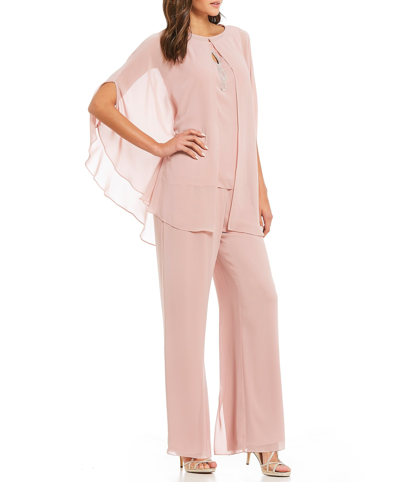Rose pink dress pants