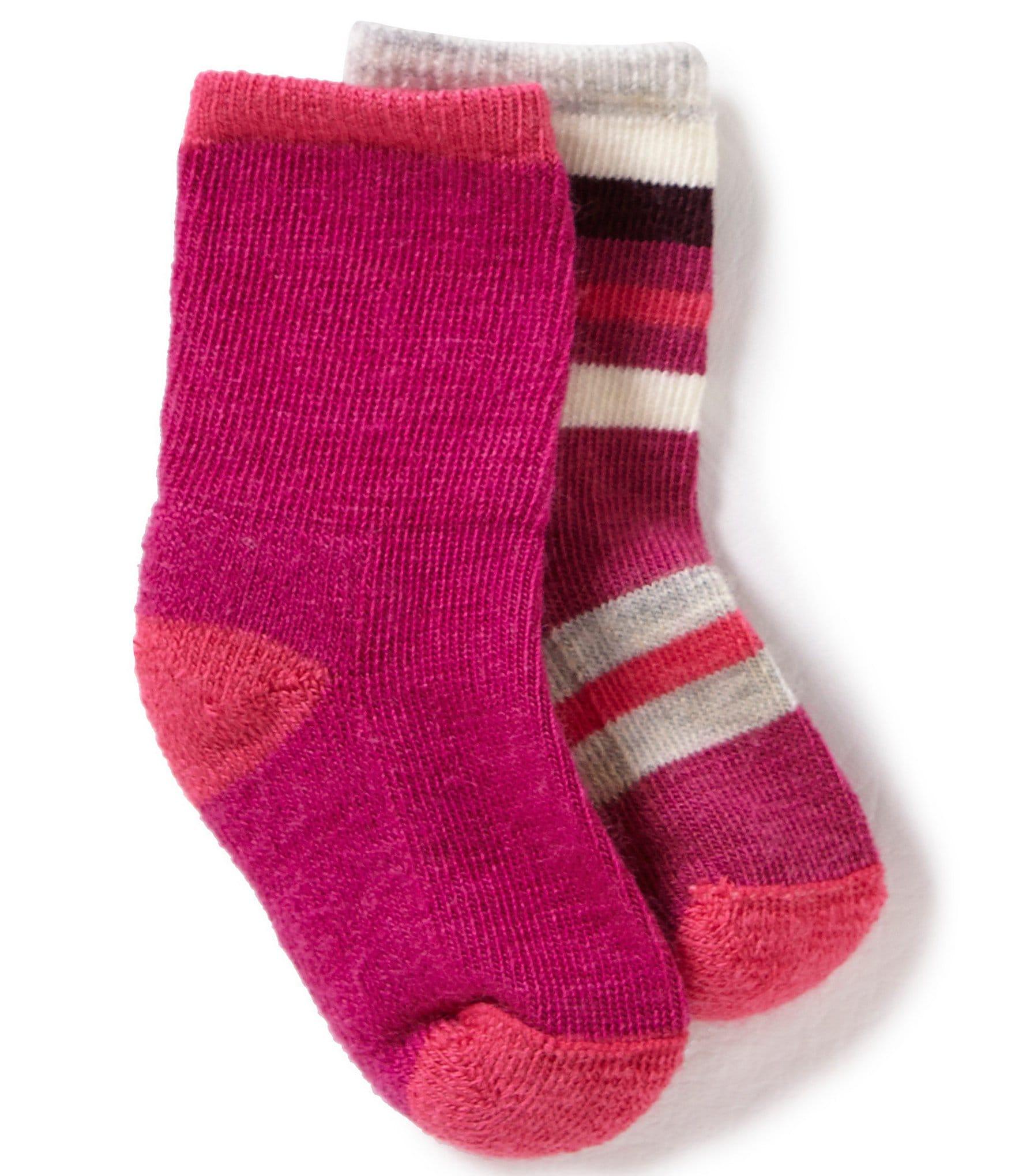 Smartwool Baby Girls Sock Sampler 2 Pack