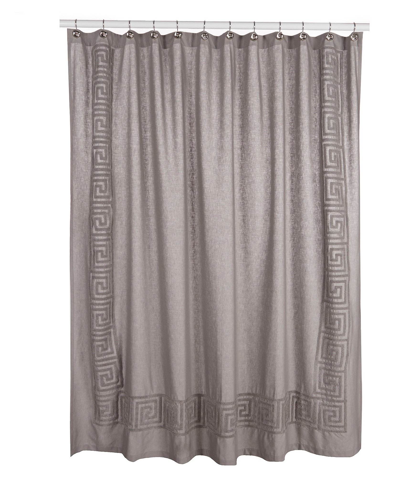 grey linen shower curtain. Home  Bath Personal Care Shower Curtains Rings Dillards com