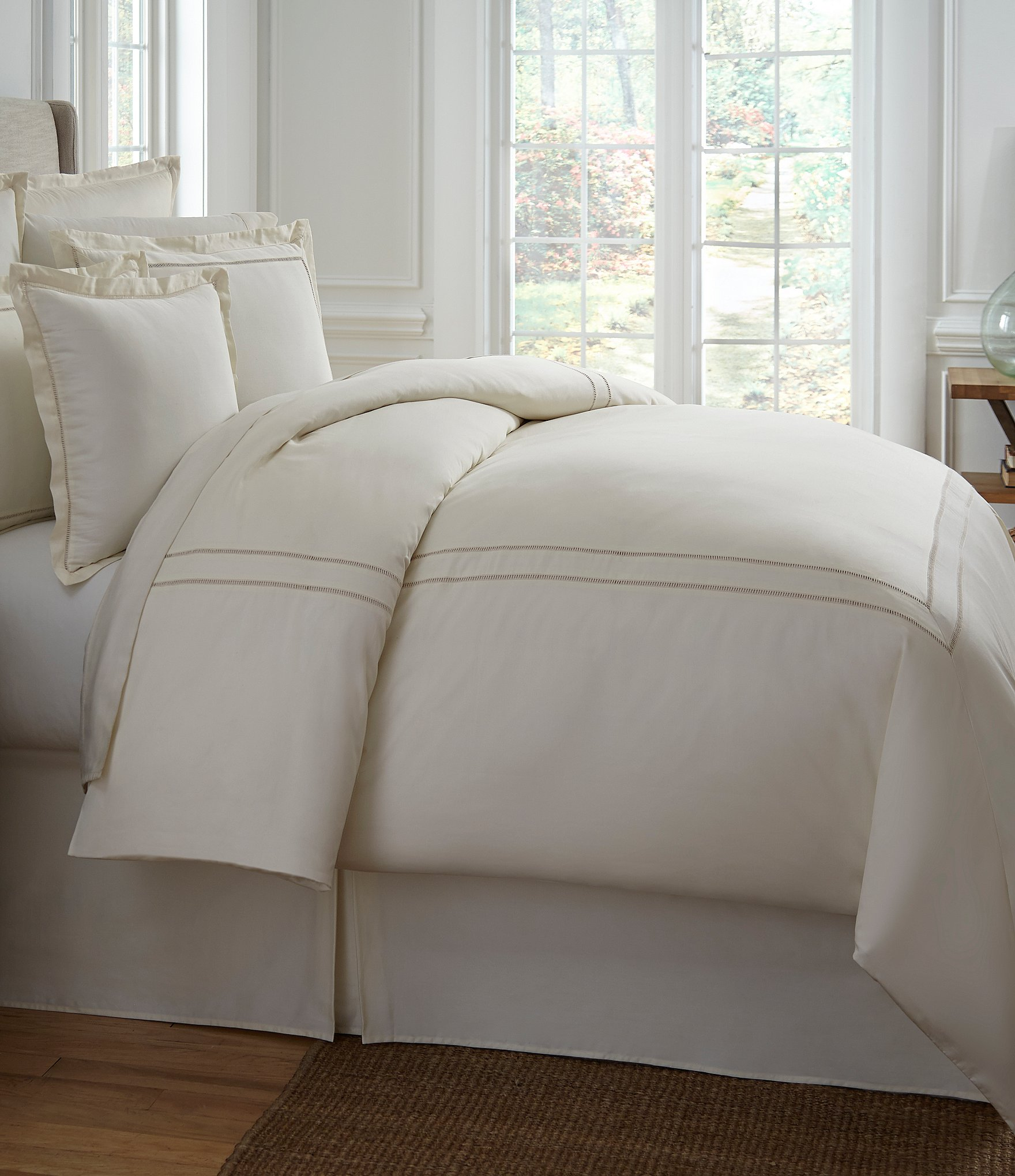 sets bedding comforter burlap with a down bedspreads of as ruffle white full well also duvet cover size colored nursery conjunction off in set what plus together beddings cream is quilt