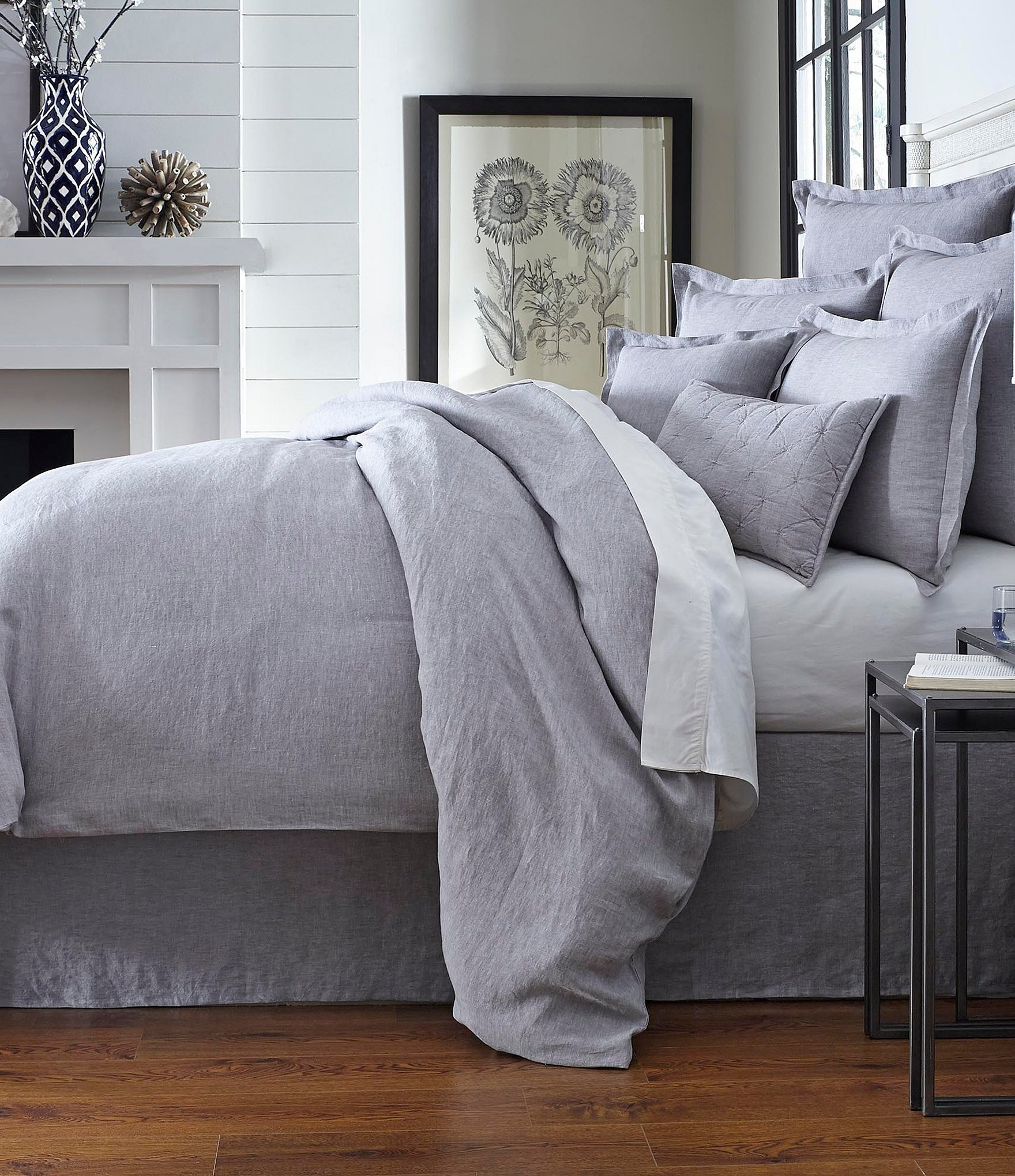linens charcoal cu furniture singapore sg originals duvet bed collections grey linen dv duvets k bedroom set