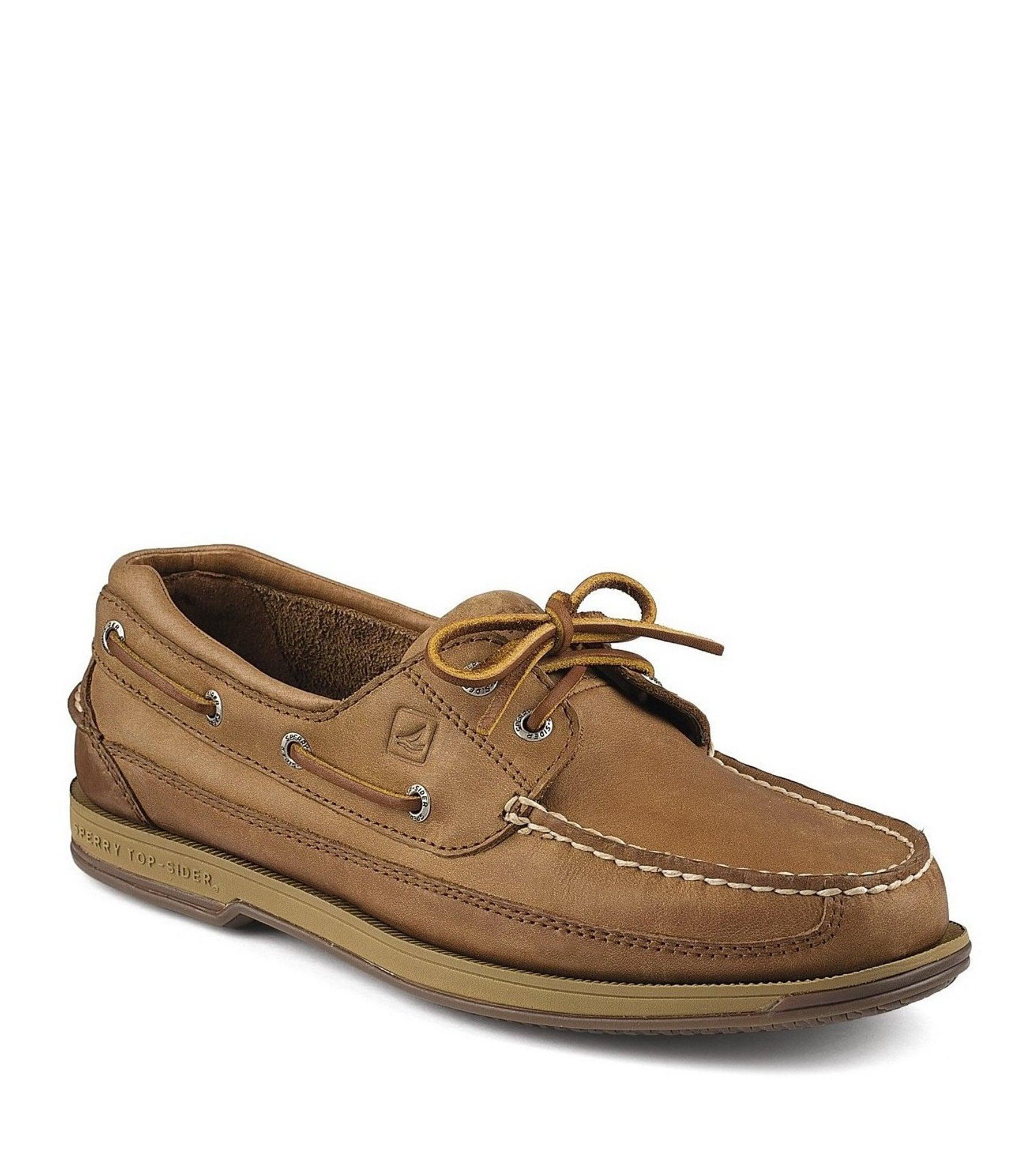 Dark Brown Womens Boat Shoes