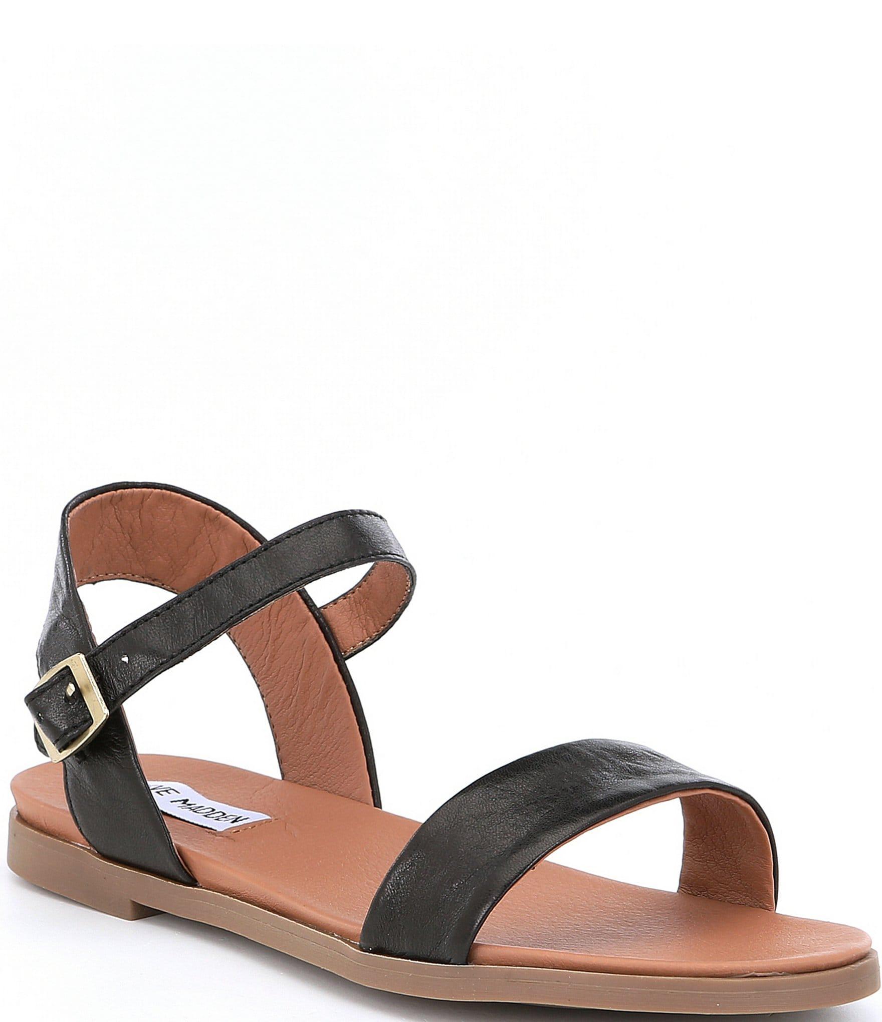 Sandals for Women On Sale, Black, Fabric, 2017, 4.5 5.5 6 6.5 7.5 Steve Madden