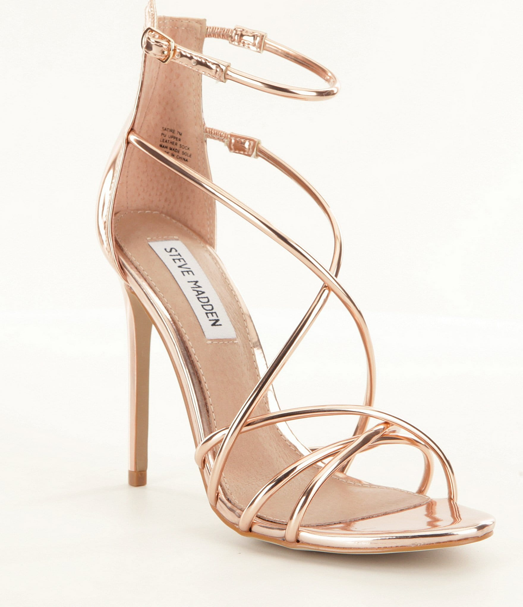 Silver White Prom Shoes