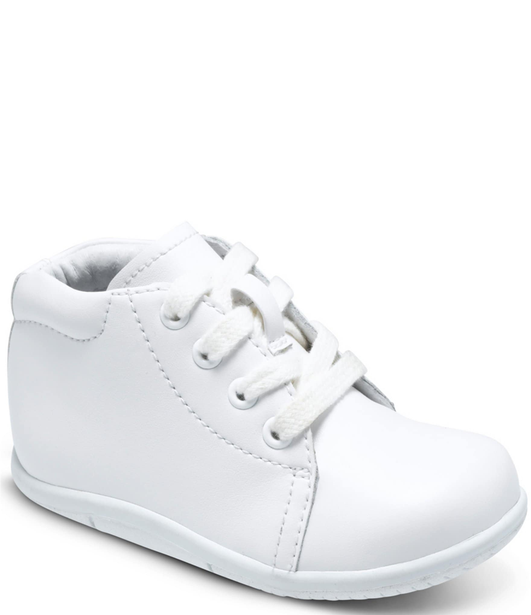 Infant White Walking Shoes