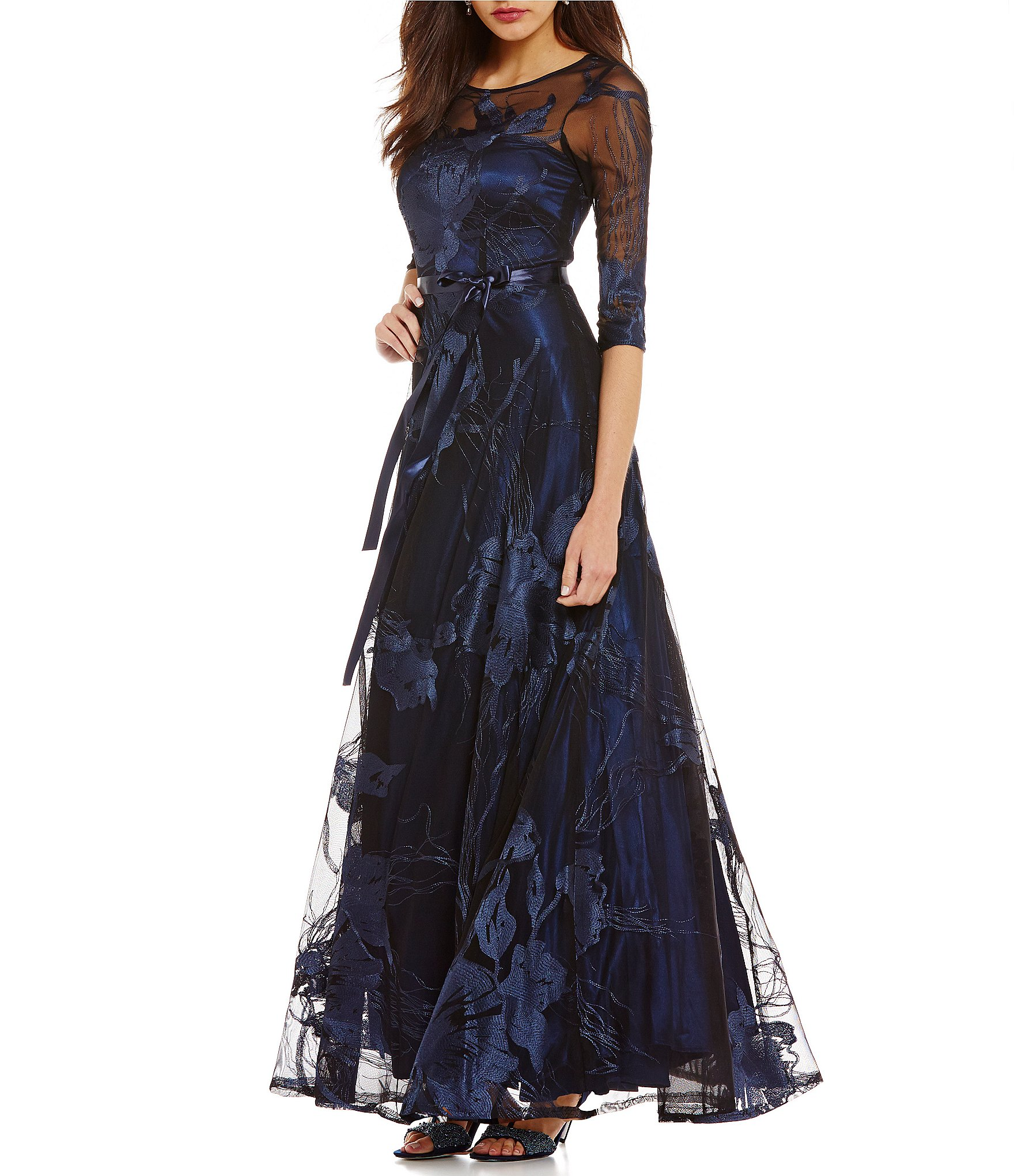 Outstanding Dillards Ball Gowns Photos - Wedding and flowers ...