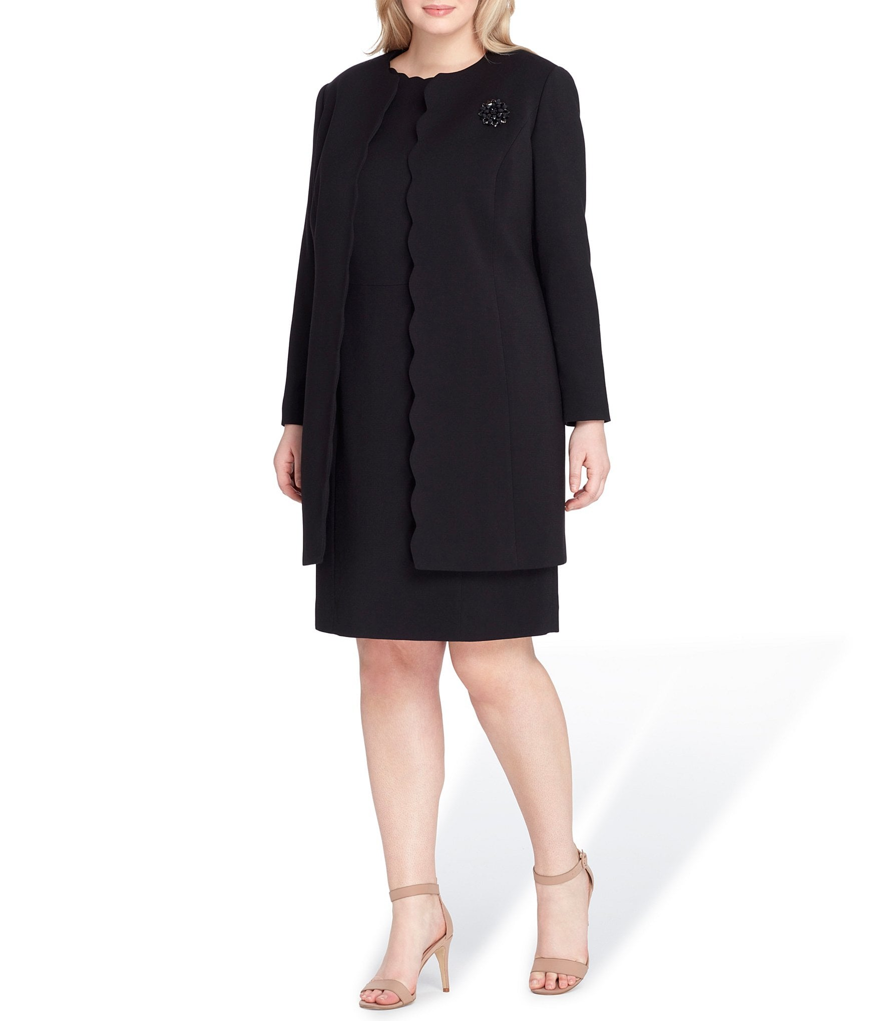 Coat to wear over cocktail dress