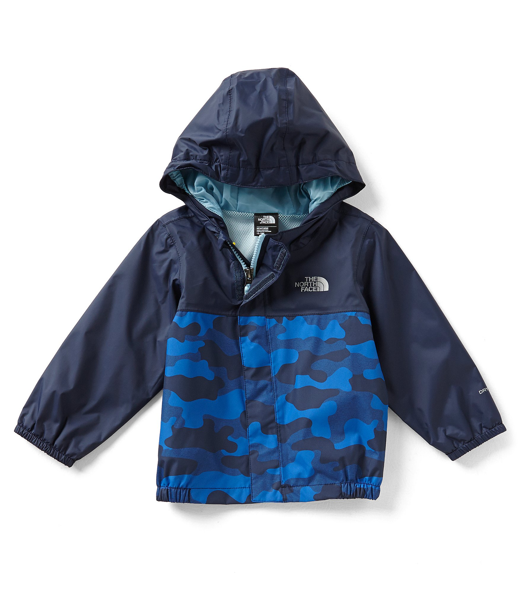 baby boy coats cold weather accessories dillards #0: zi cosmic blue camouflage heather print