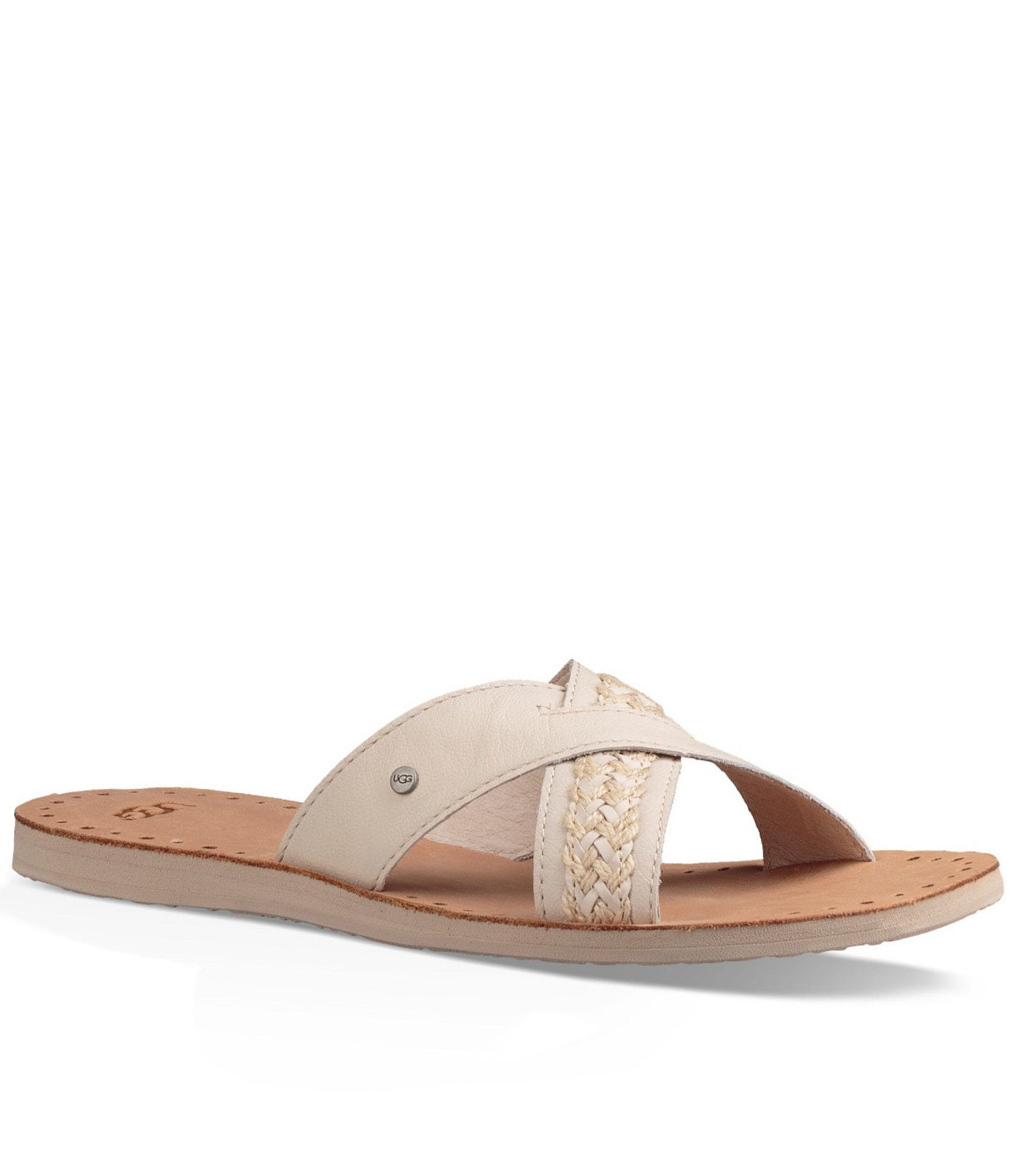 Ugg 174 Lexia Slide On Sandals Dillards