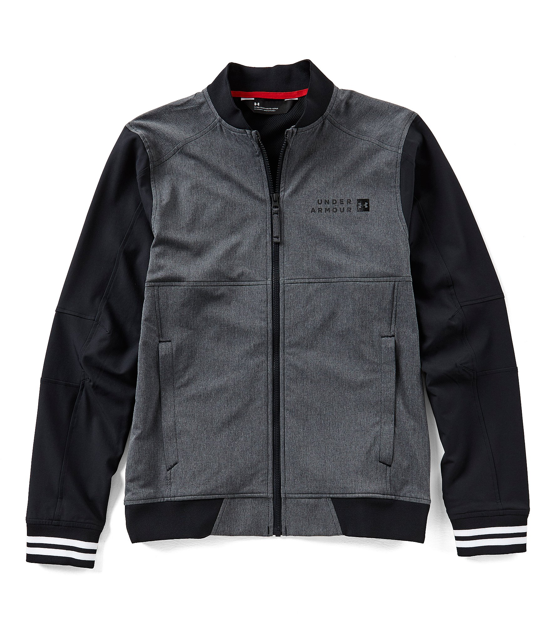 cheap under armour jacket  black