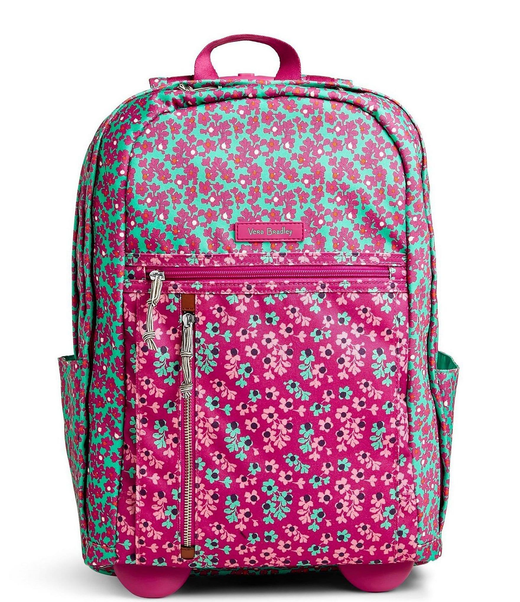 Vera Bradley Lighten Up Rolling Backpack Dillards