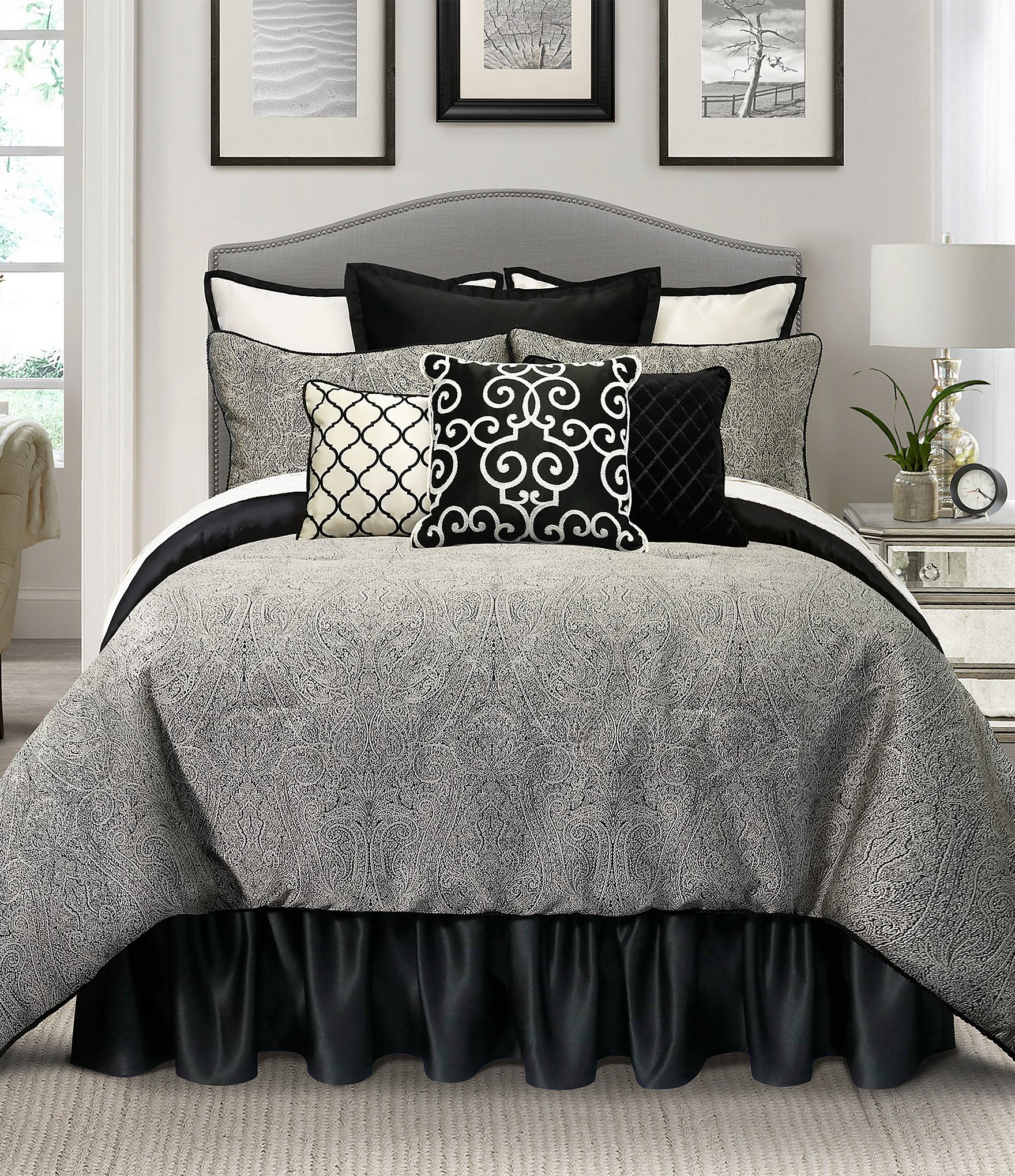 Bed sheet set black and white - Bed Sheet Set Black And White 15