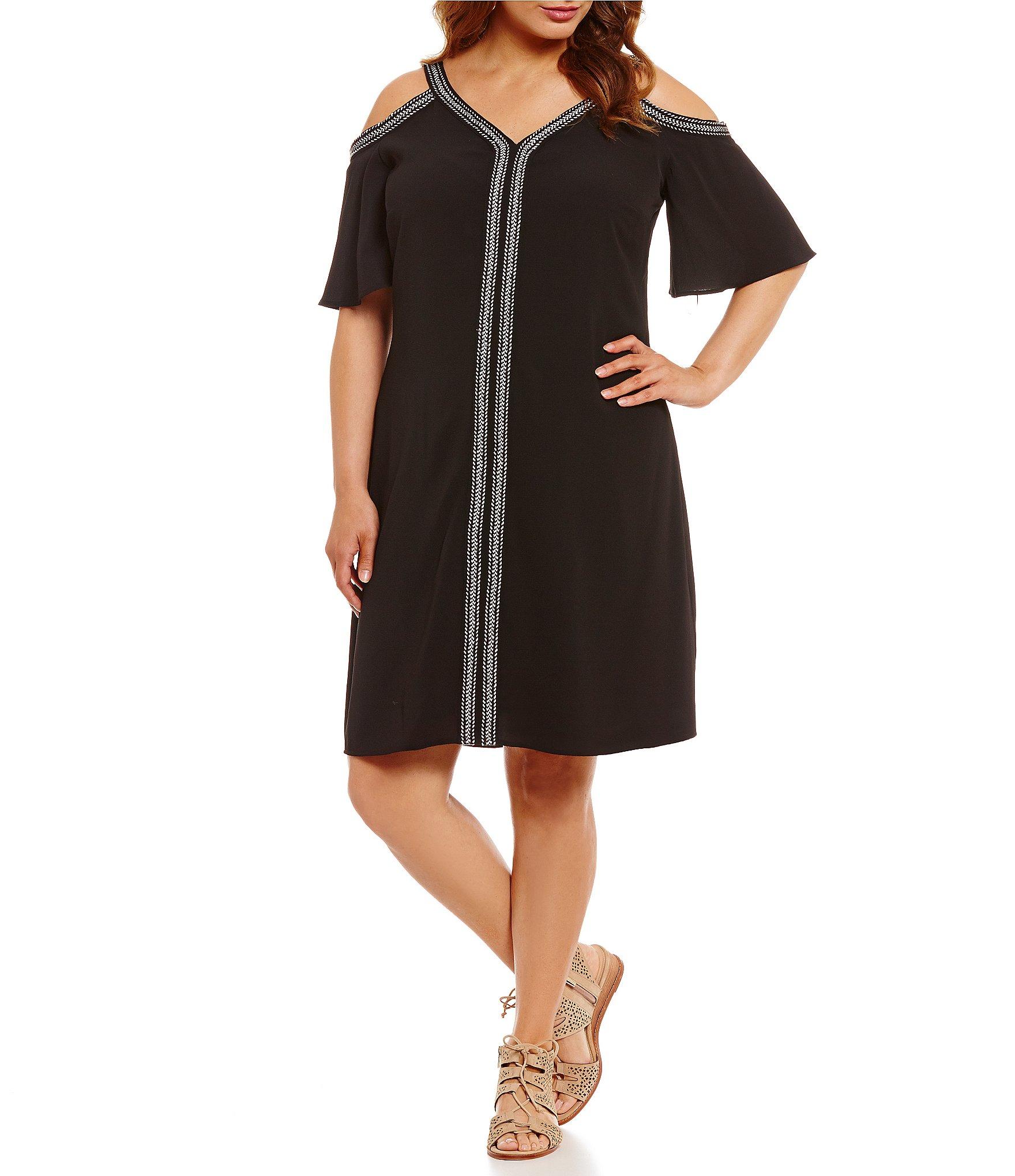 clearance dresses: Women\'s Plus-Size Clothing   Dillards.com