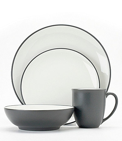 Noritake Colorwave Graphite Coupe Dinnerware