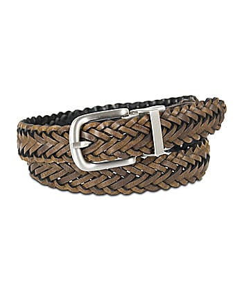 Class Club Reversible D-Ring Braided Belt