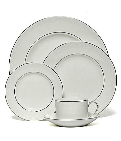 Vera Wang by Wedgwood Blanc Sur Blanc China